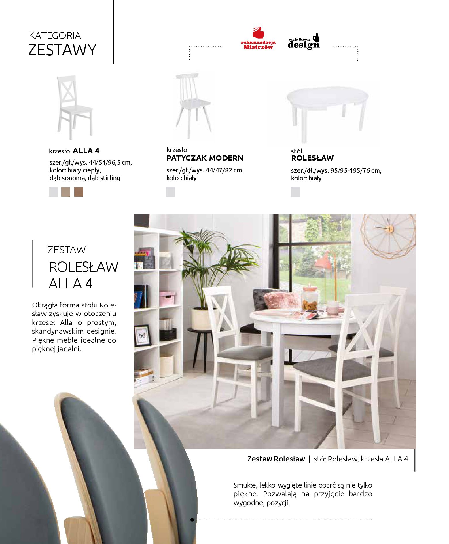 Gazetka Black Red White: Katalog - Stoły i krzesła 2019-05-01 page-8