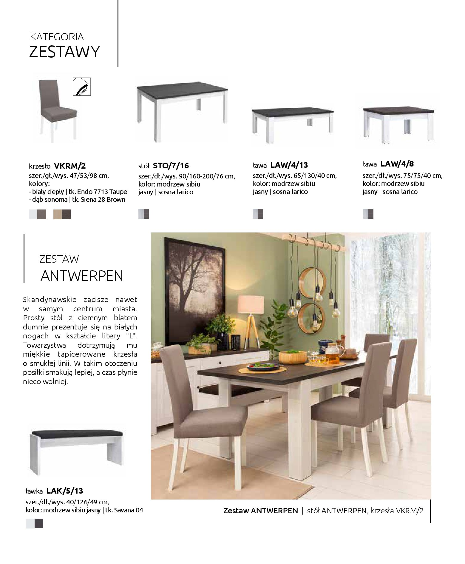 Gazetka Black Red White: Katalog - Stoły i krzesła 2019-05-01 page-10