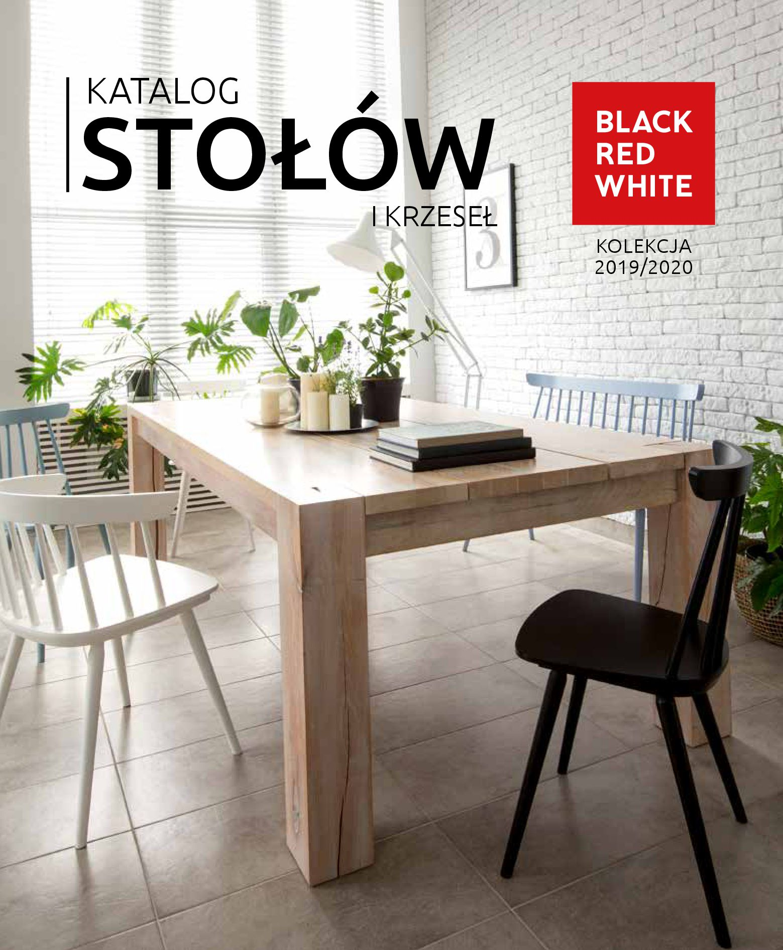 Gazetka Black Red White: Katalog - Stoły i krzesła 2019-05-01 page-1
