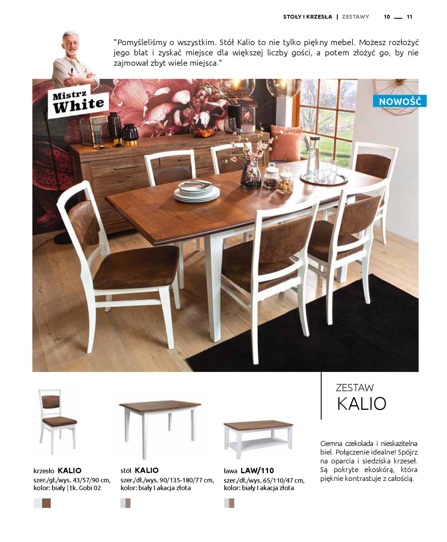 Gazetka Black Red White: Katalog - Stoły i krzesła 2019-05-01 page-11