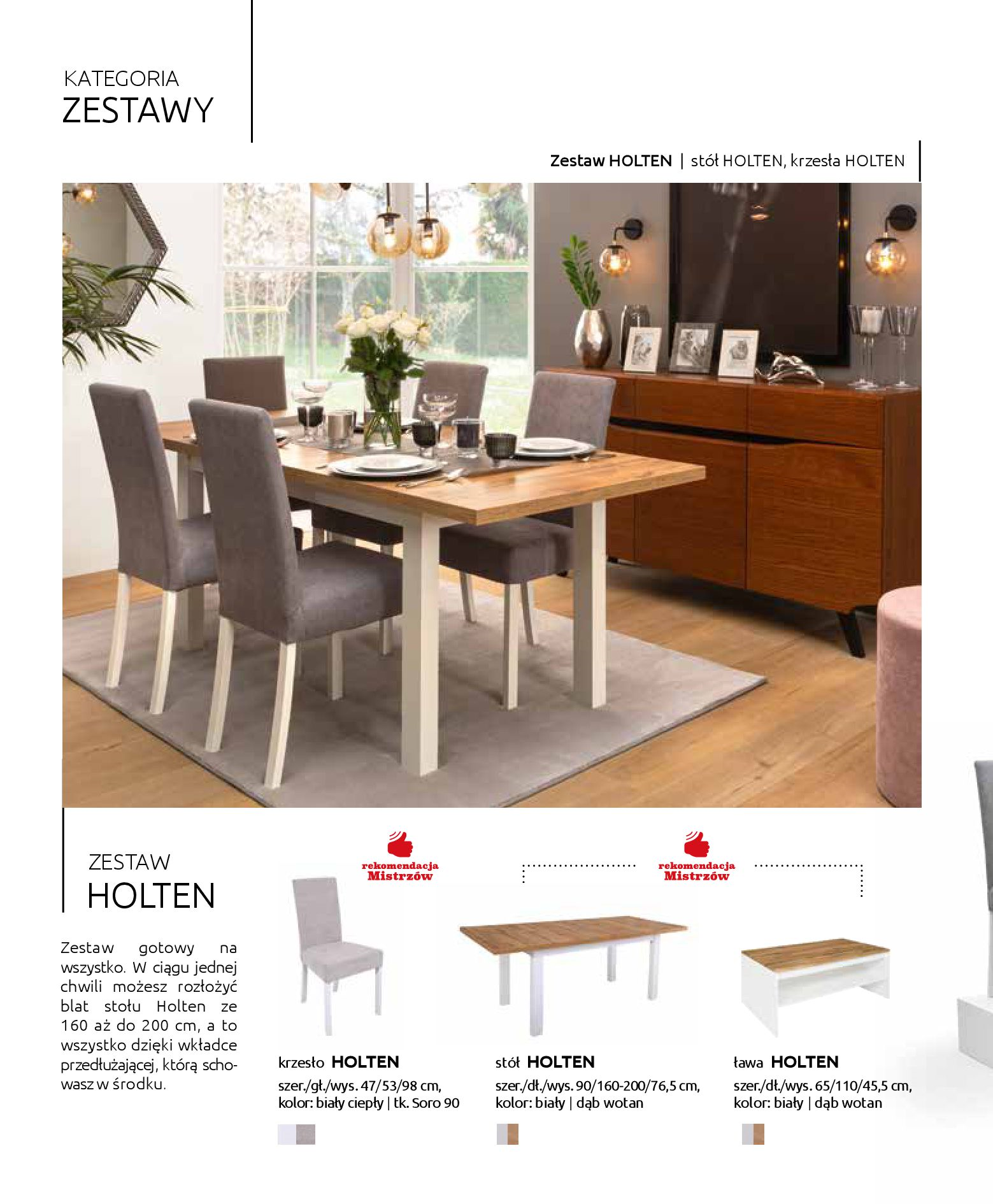Gazetka Black Red White: Katalog - Stoły i krzesła 2019-05-01 page-12