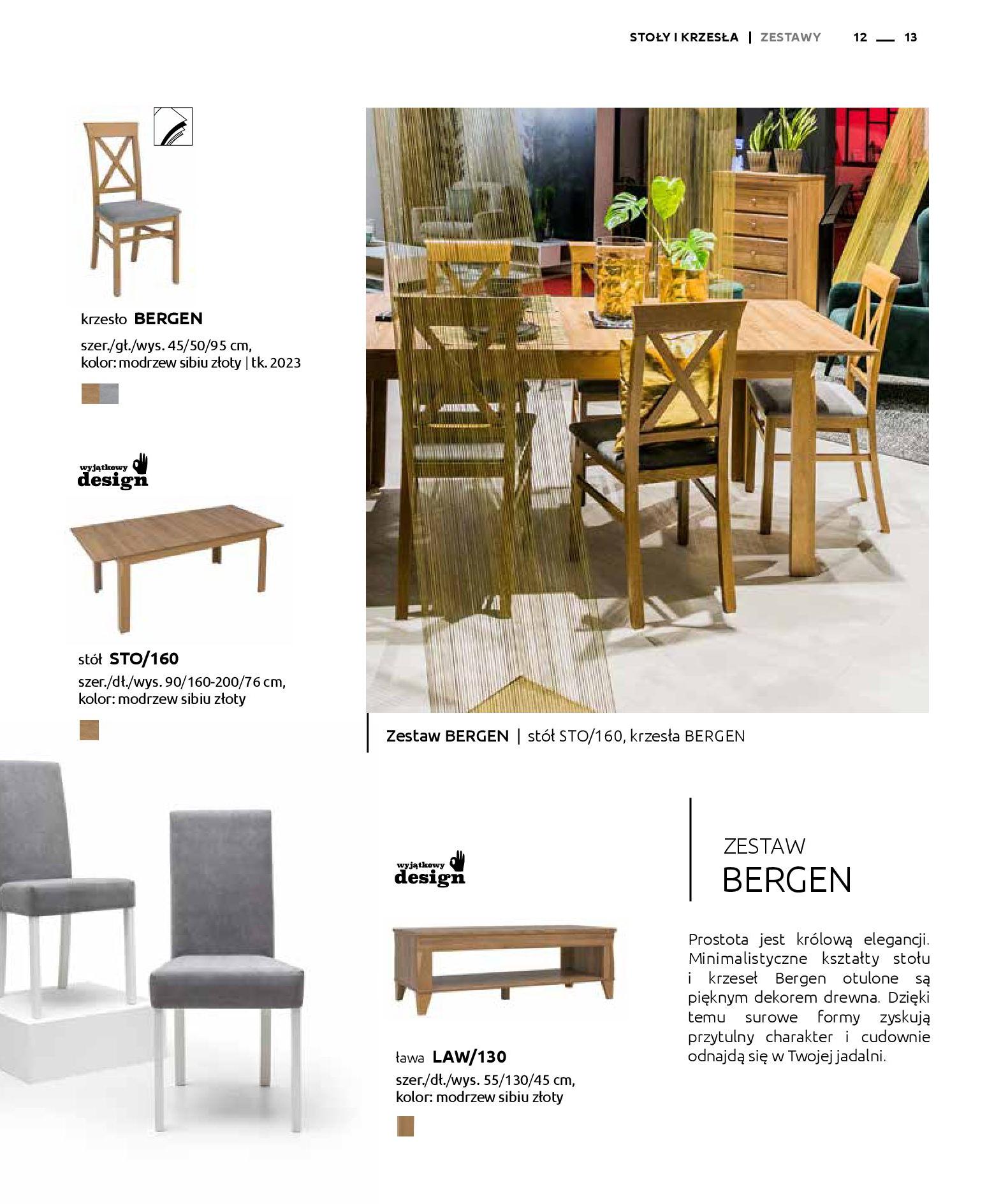 Gazetka Black Red White: Katalog - Stoły i krzesła 2019-05-01 page-13