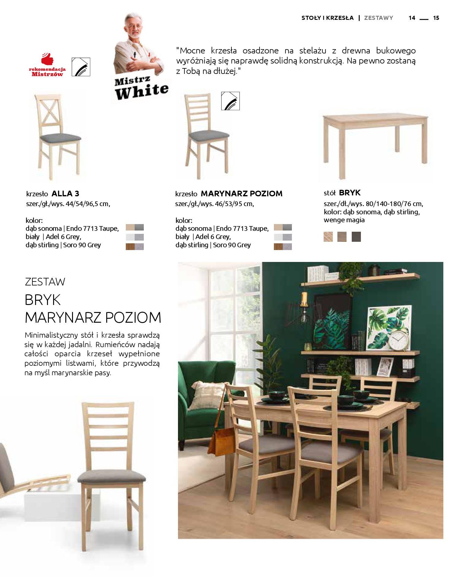 Gazetka Black Red White: Katalog - Stoły i krzesła 2019-05-01 page-15