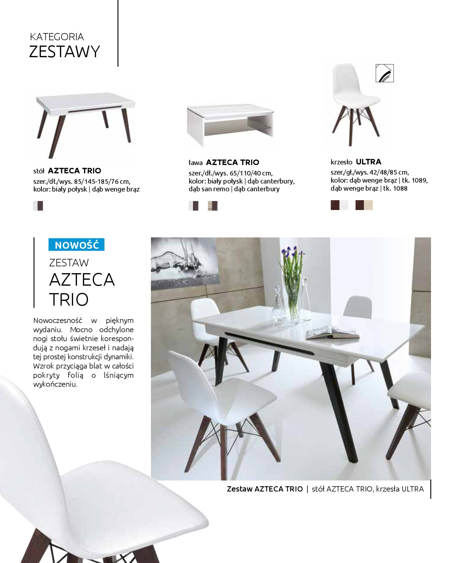 Gazetka Black Red White: Katalog - Stoły i krzesła 2019-05-01 page-16