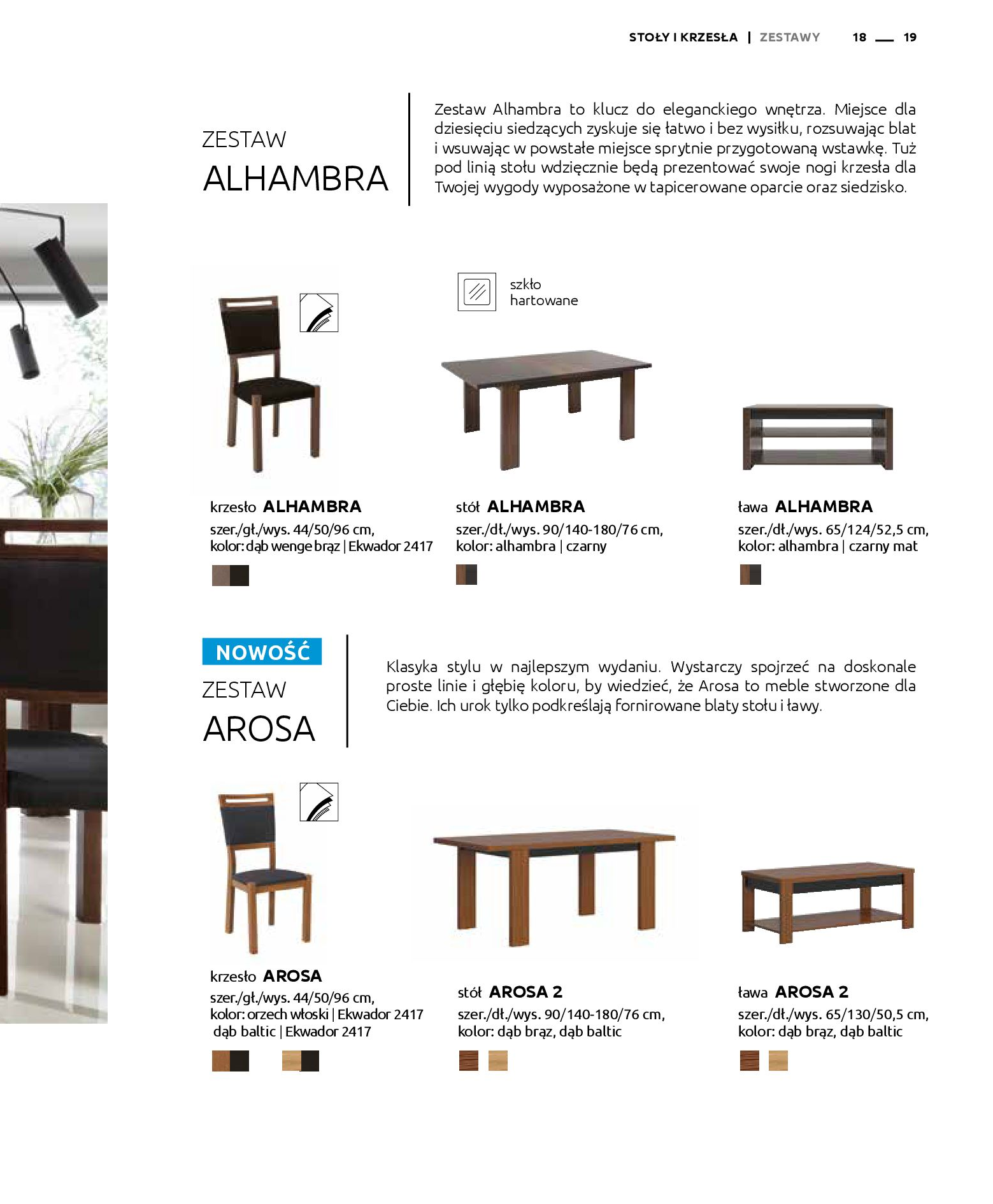 Gazetka Black Red White: Katalog - Stoły i krzesła 2019-05-01 page-19