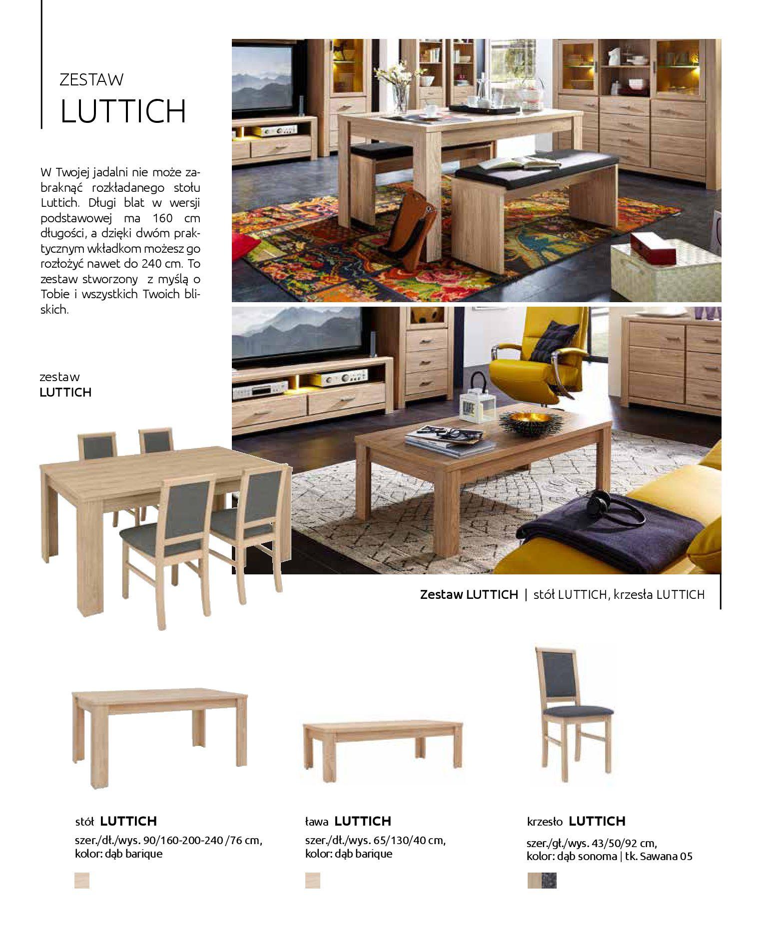 Gazetka Black Red White: Katalog - Stoły i krzesła 2019-05-01 page-20