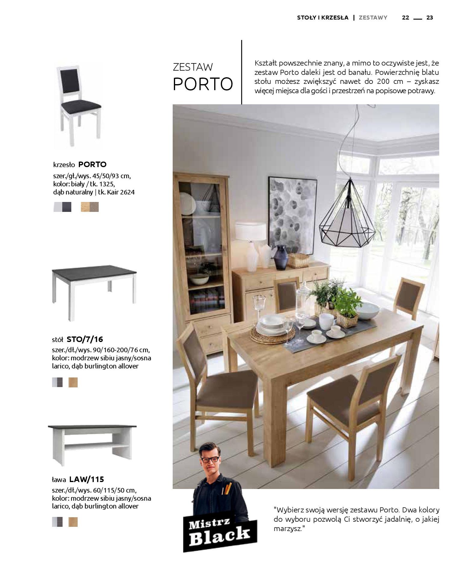 Gazetka Black Red White: Katalog - Stoły i krzesła 2019-05-01 page-23
