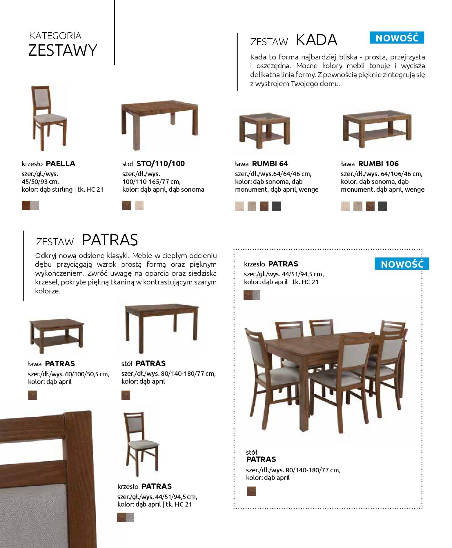 Gazetka Black Red White: Katalog - Stoły i krzesła 2019-05-01 page-24
