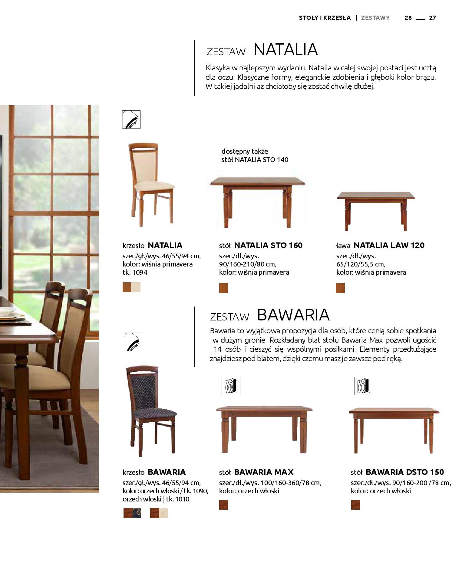 Gazetka Black Red White: Katalog - Stoły i krzesła 2019-05-01 page-27