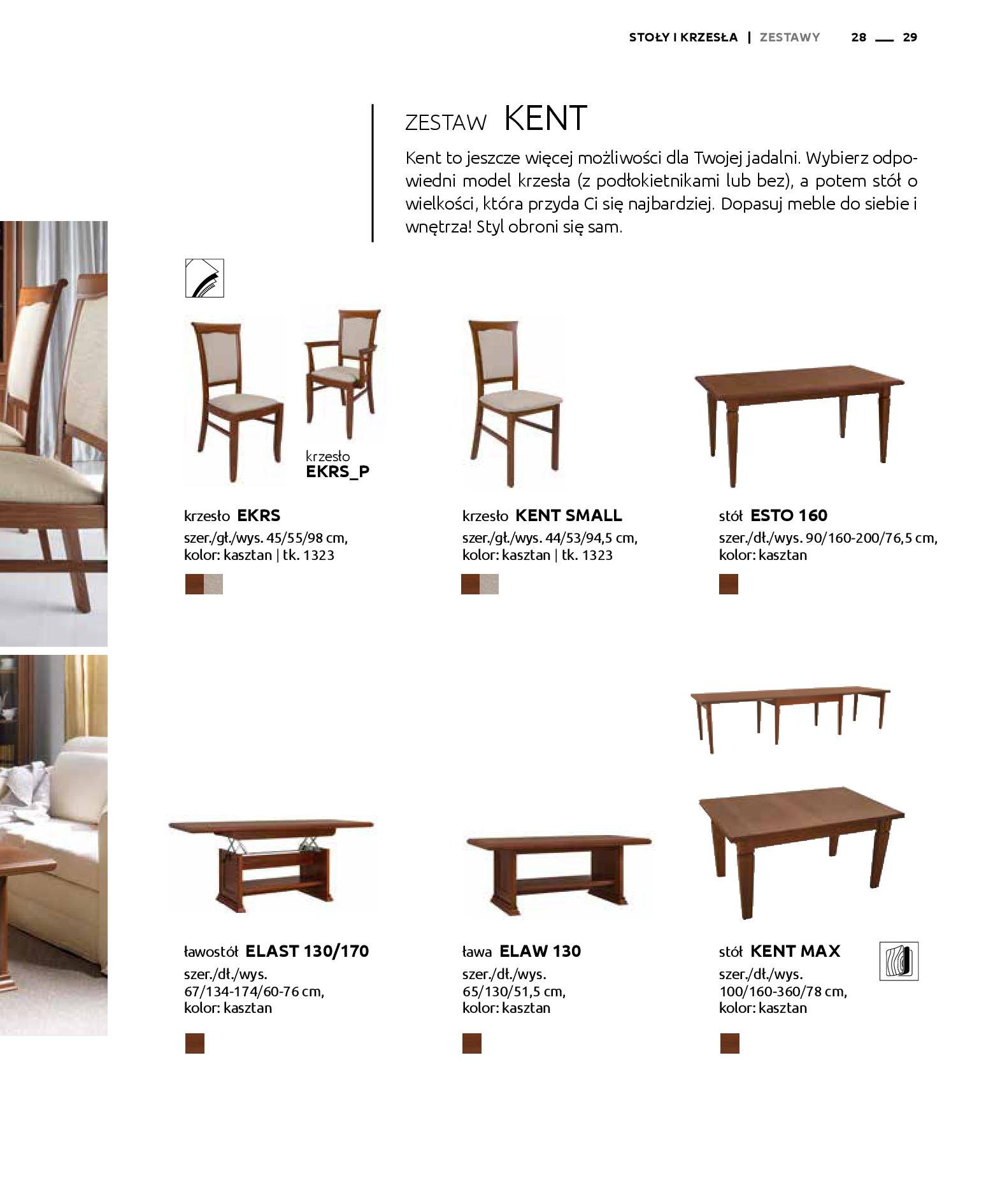 Gazetka Black Red White: Katalog - Stoły i krzesła 2019-05-01 page-29