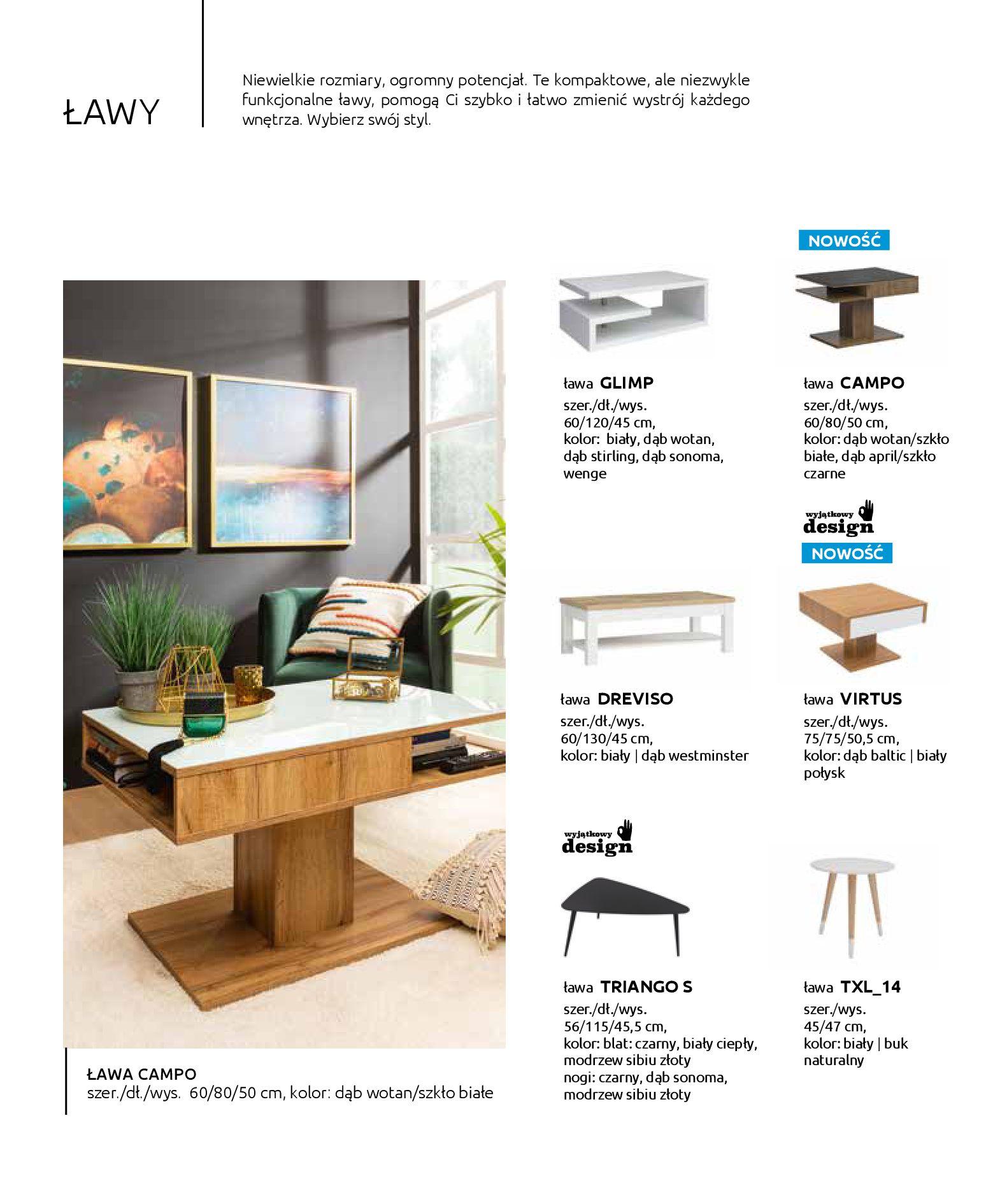 Gazetka Black Red White: Katalog - Stoły i krzesła 2019-05-01 page-36