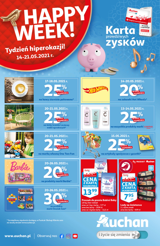 Auchan:  Gazetka Auchan - Zyski 13.05.2021
