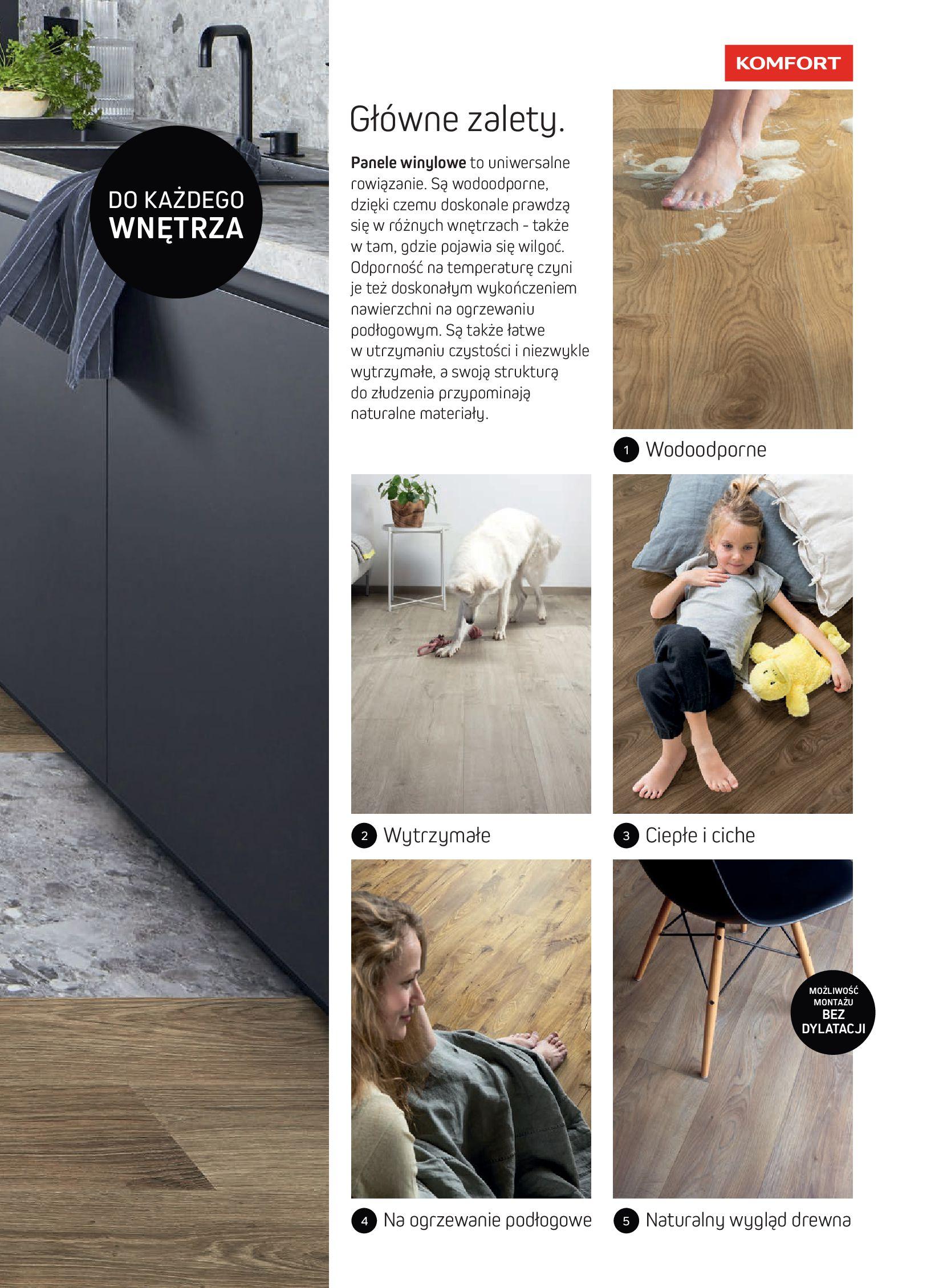 Gazetka Komfort: Gazetka Komfort - Katalog podłogi i drzwi 2021-06-16 page-5