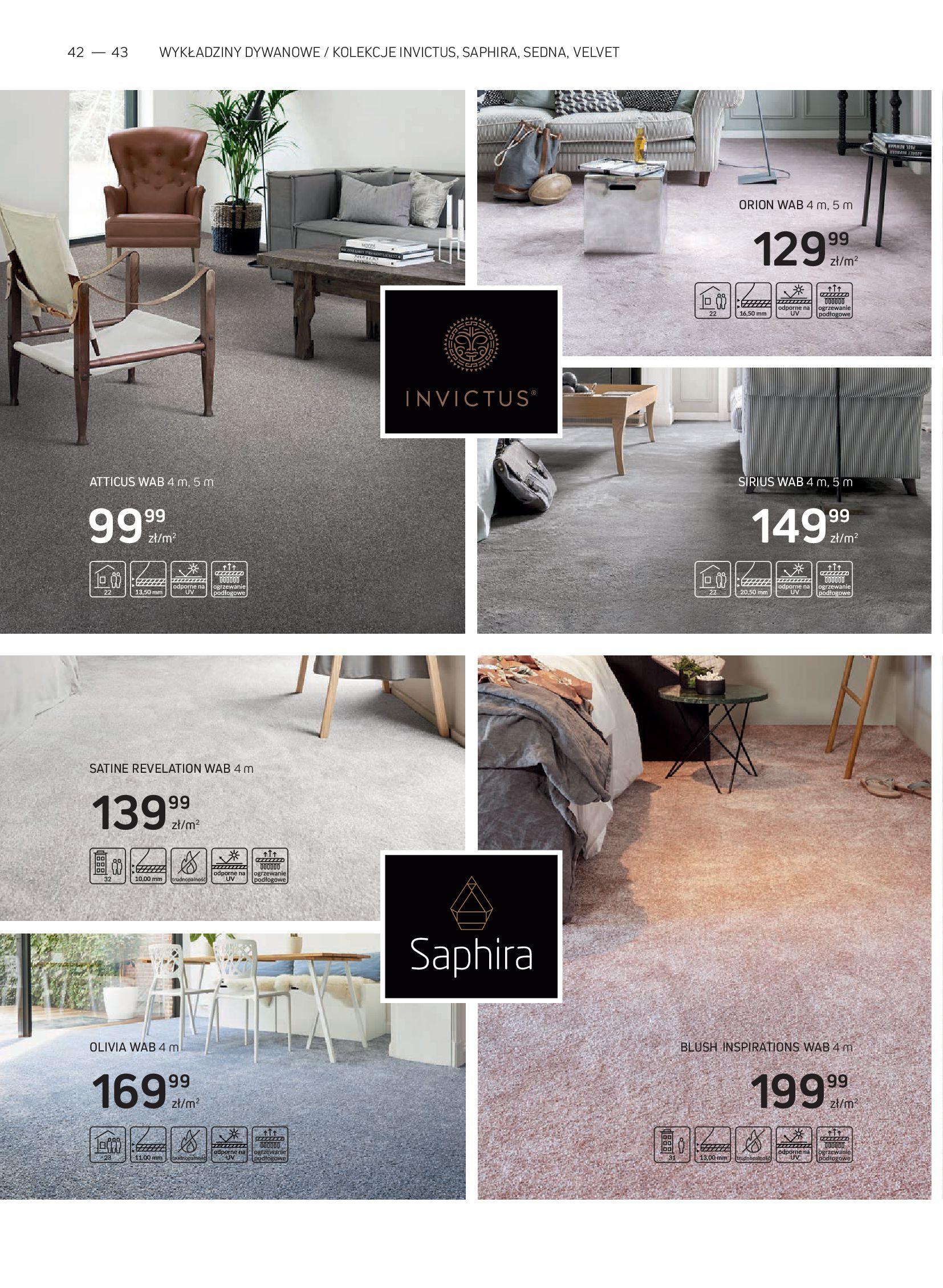 Gazetka Komfort: Gazetka Komfort - Katalog podłogi i drzwi 2021-06-16 page-42