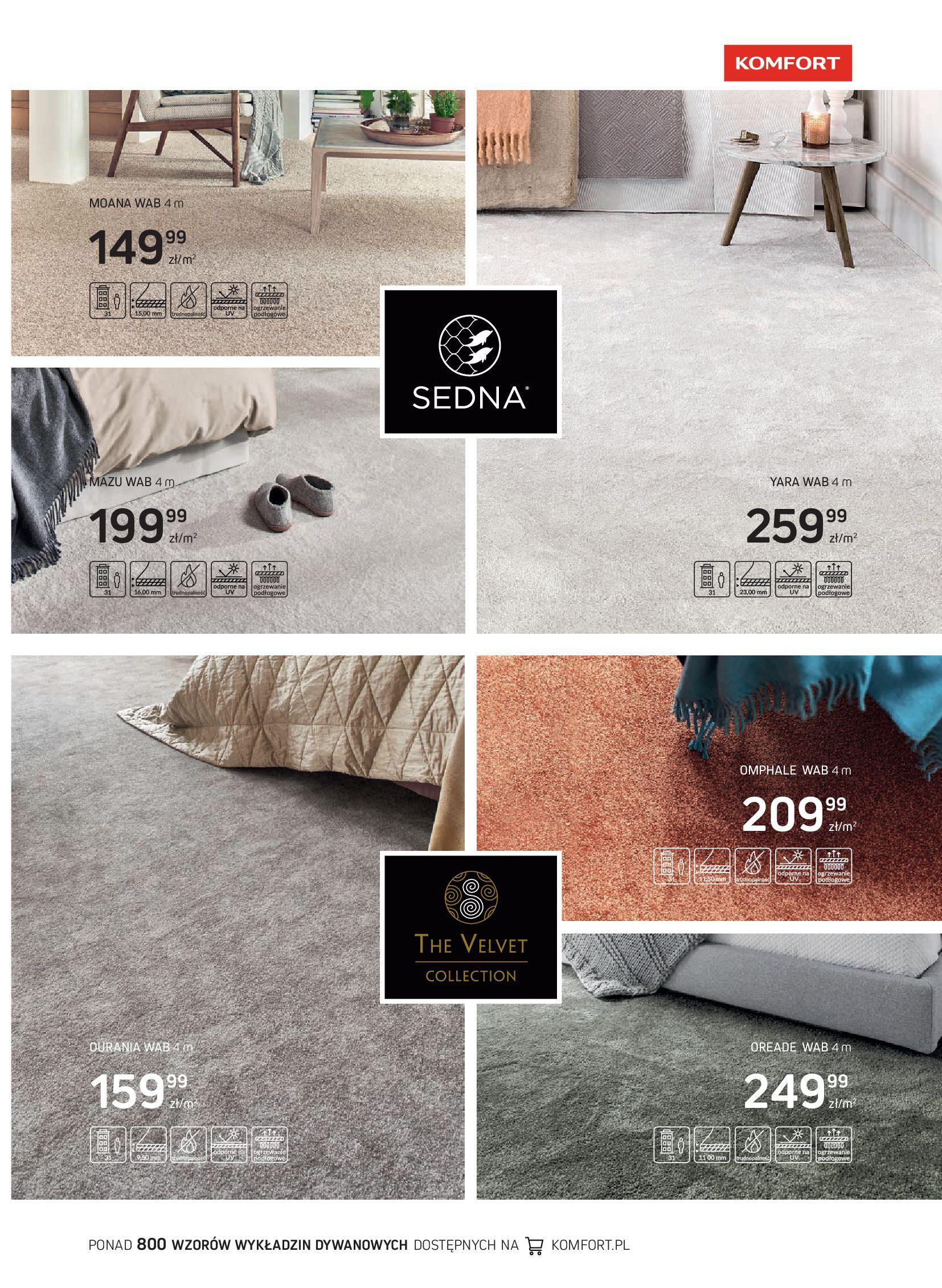 Gazetka Komfort: Gazetka Komfort - Katalog podłogi i drzwi 2021-06-16 page-43