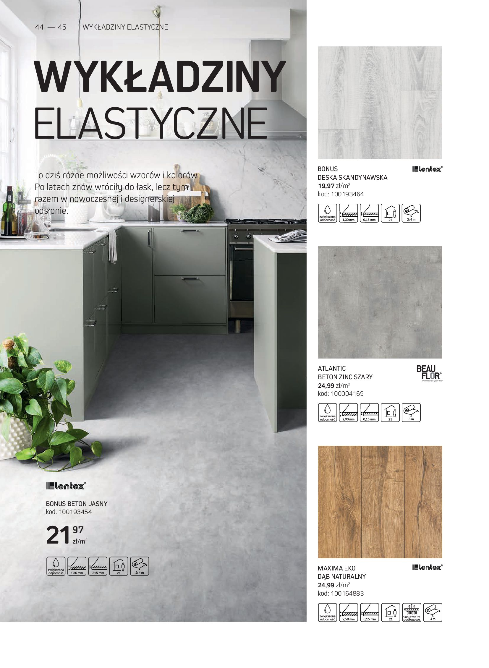 Gazetka Komfort: Gazetka Komfort - Katalog podłogi i drzwi 2021-06-16 page-44