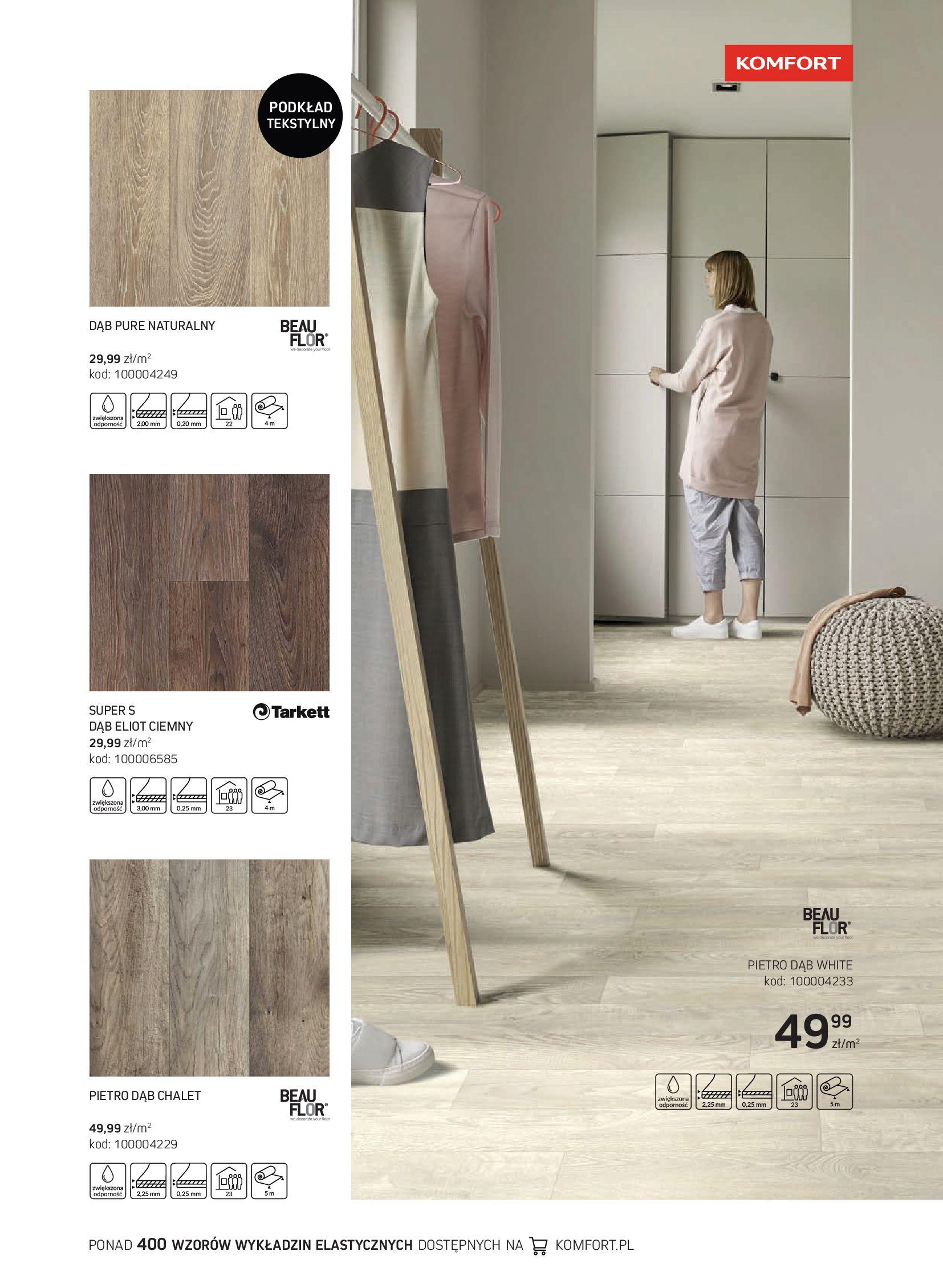 Gazetka Komfort: Gazetka Komfort - Katalog podłogi i drzwi 2021-06-16 page-45