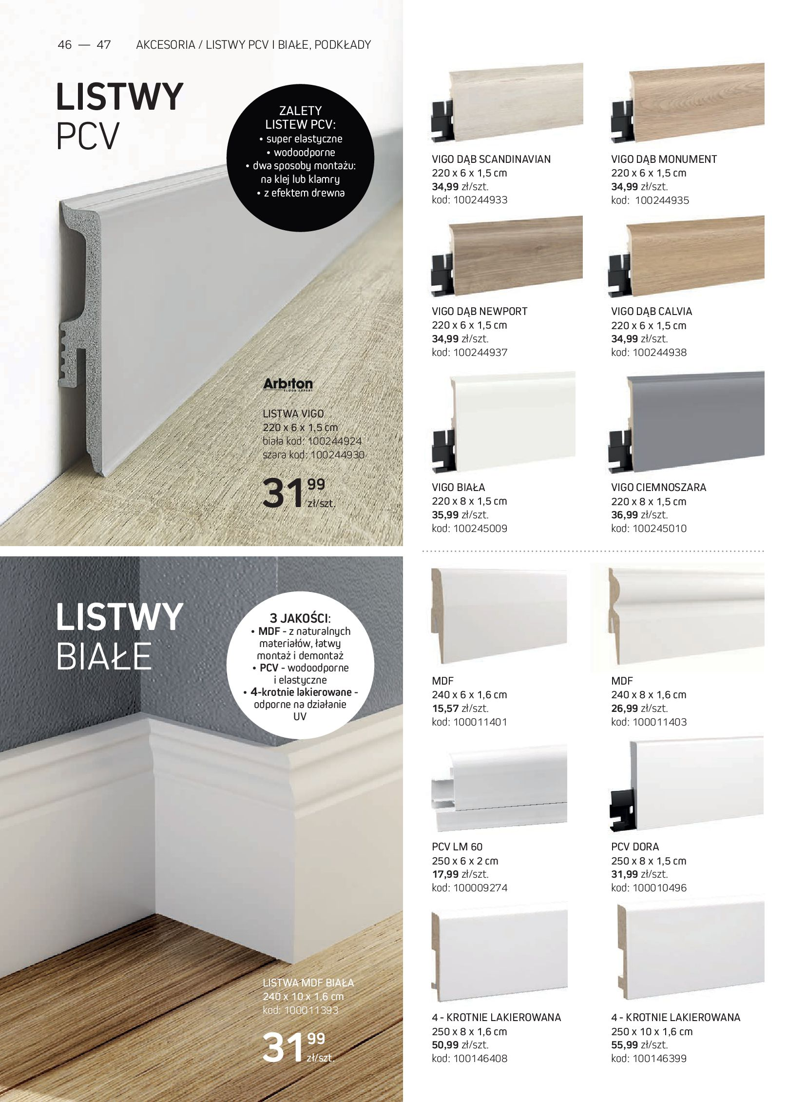 Gazetka Komfort: Gazetka Komfort - Katalog podłogi i drzwi 2021-06-16 page-46
