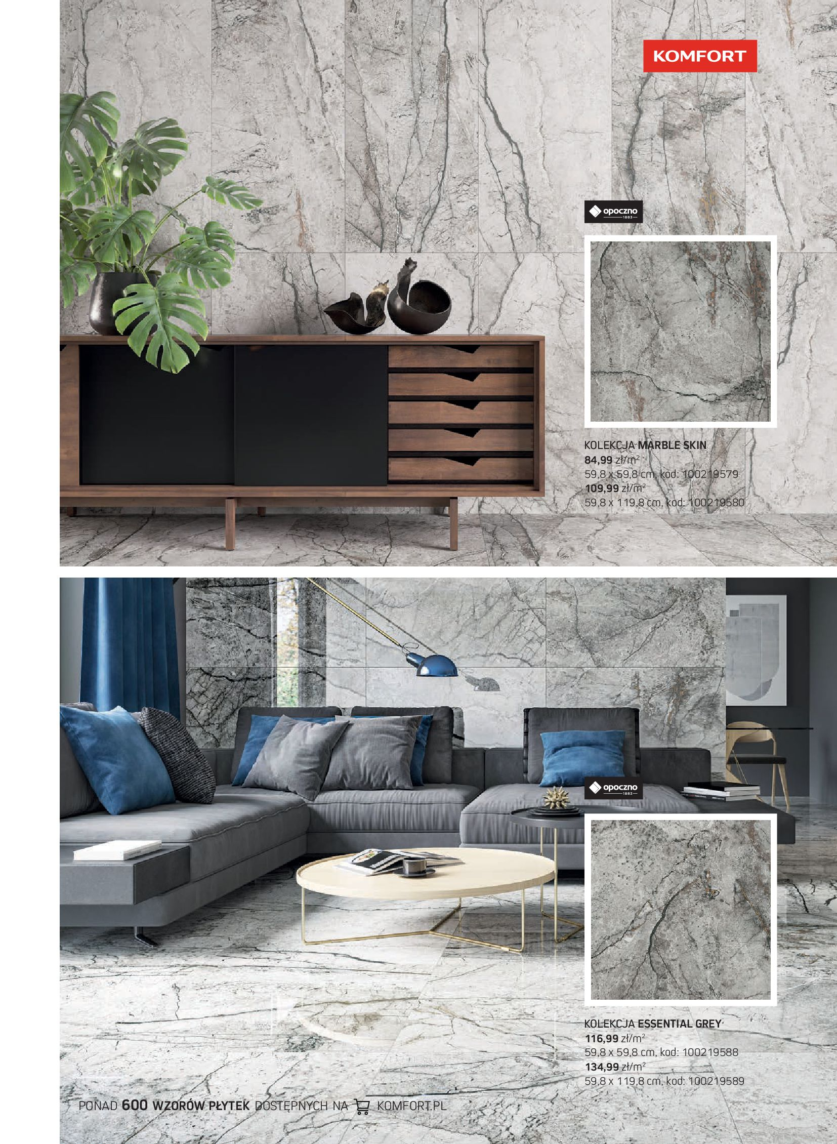 Gazetka Komfort: Gazetka Komfort - Katalog podłogi i drzwi 2021-06-16 page-49