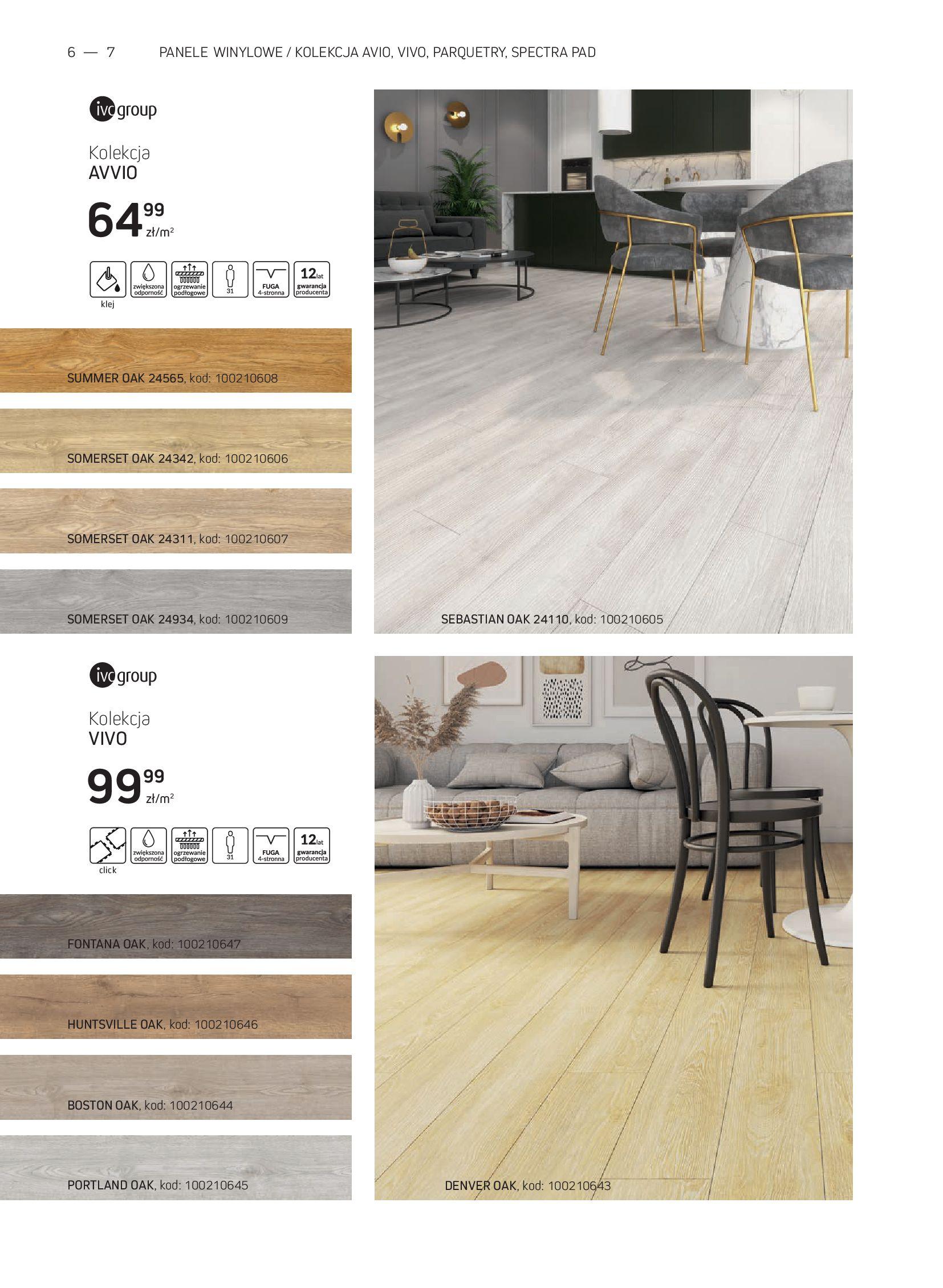Gazetka Komfort: Gazetka Komfort - Katalog podłogi i drzwi 2021-06-16 page-6