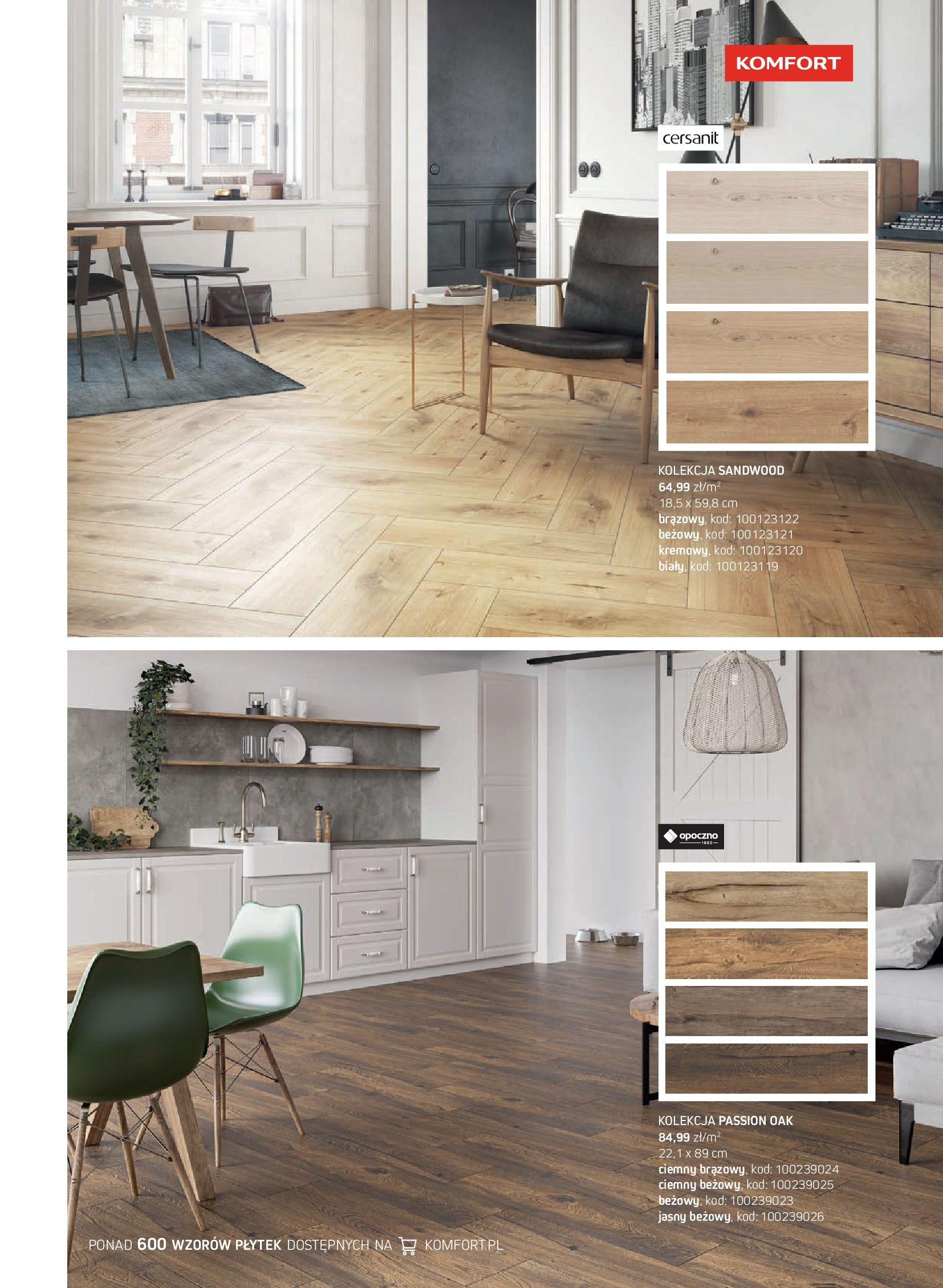 Gazetka Komfort: Gazetka Komfort - Katalog podłogi i drzwi 2021-06-16 page-51
