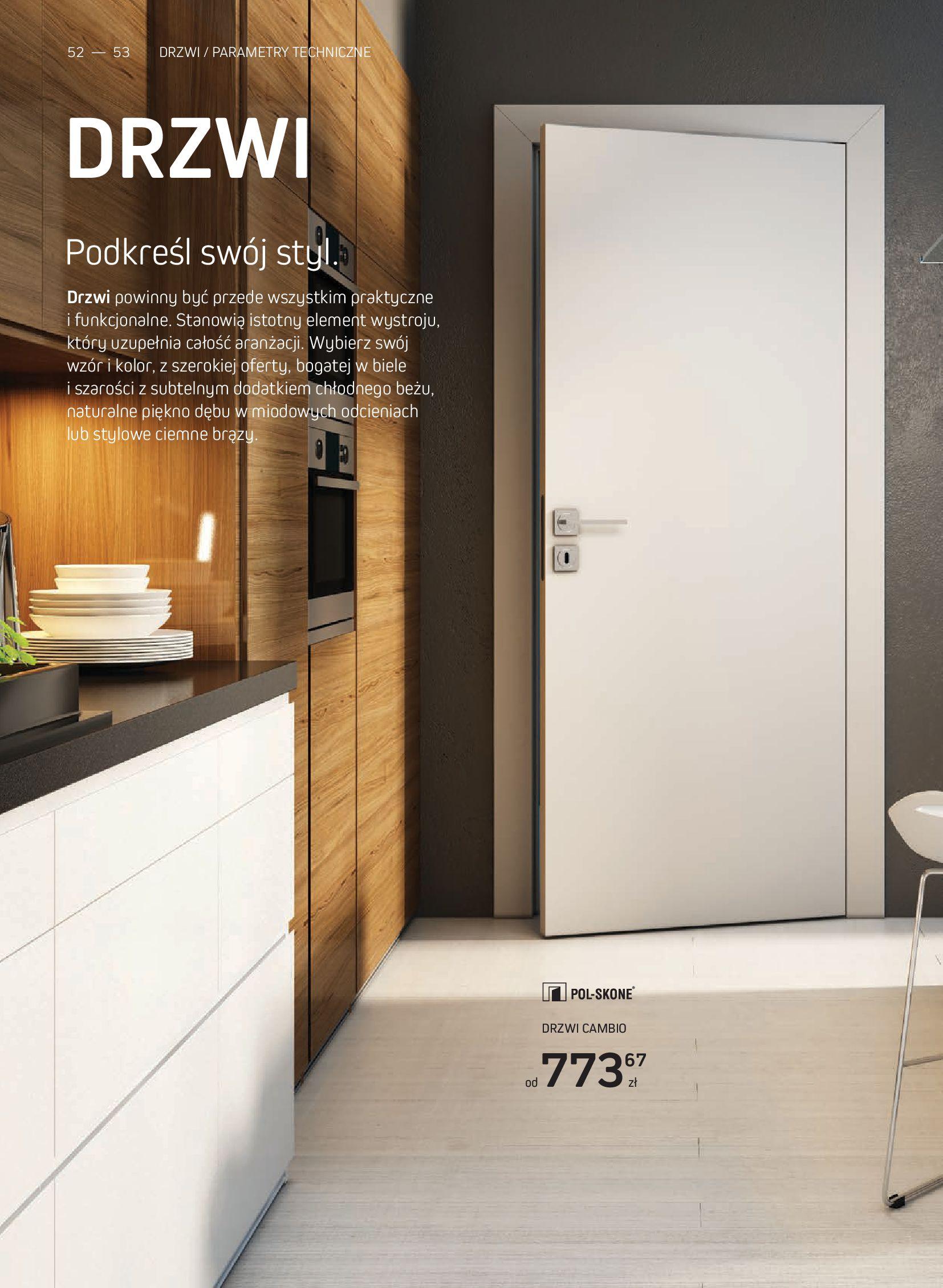 Gazetka Komfort: Gazetka Komfort - Katalog podłogi i drzwi 2021-06-16 page-52