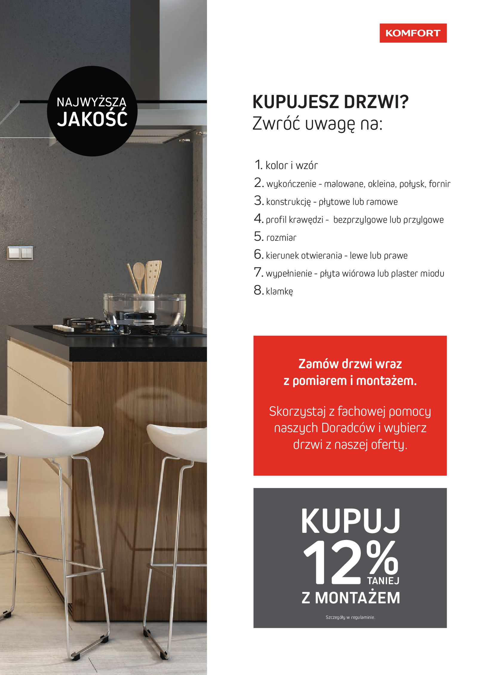 Gazetka Komfort: Gazetka Komfort - Katalog podłogi i drzwi 2021-06-16 page-53