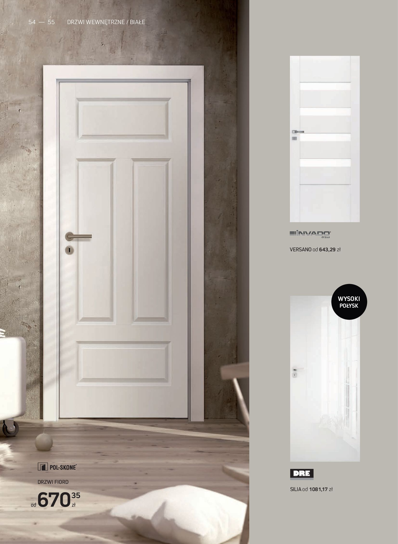 Gazetka Komfort: Gazetka Komfort - Katalog podłogi i drzwi 2021-06-16 page-54