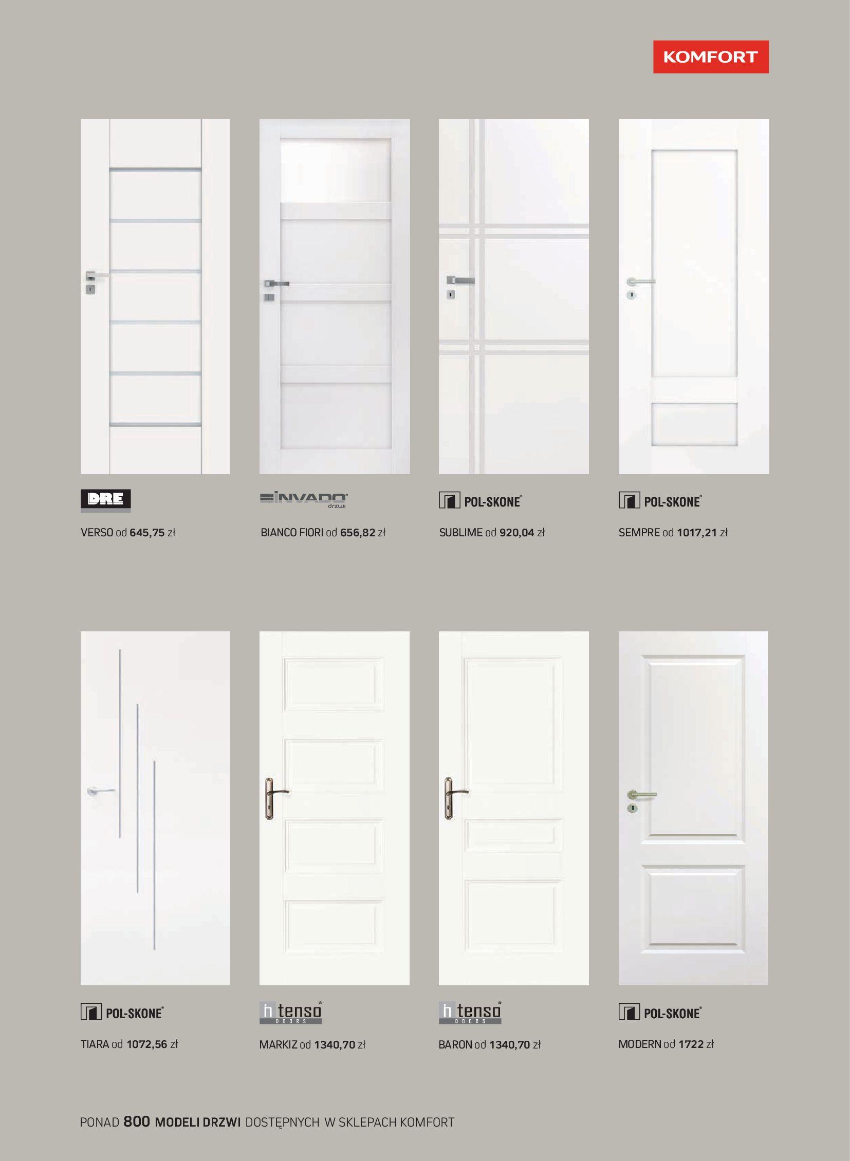 Gazetka Komfort: Gazetka Komfort - Katalog podłogi i drzwi 2021-06-16 page-55
