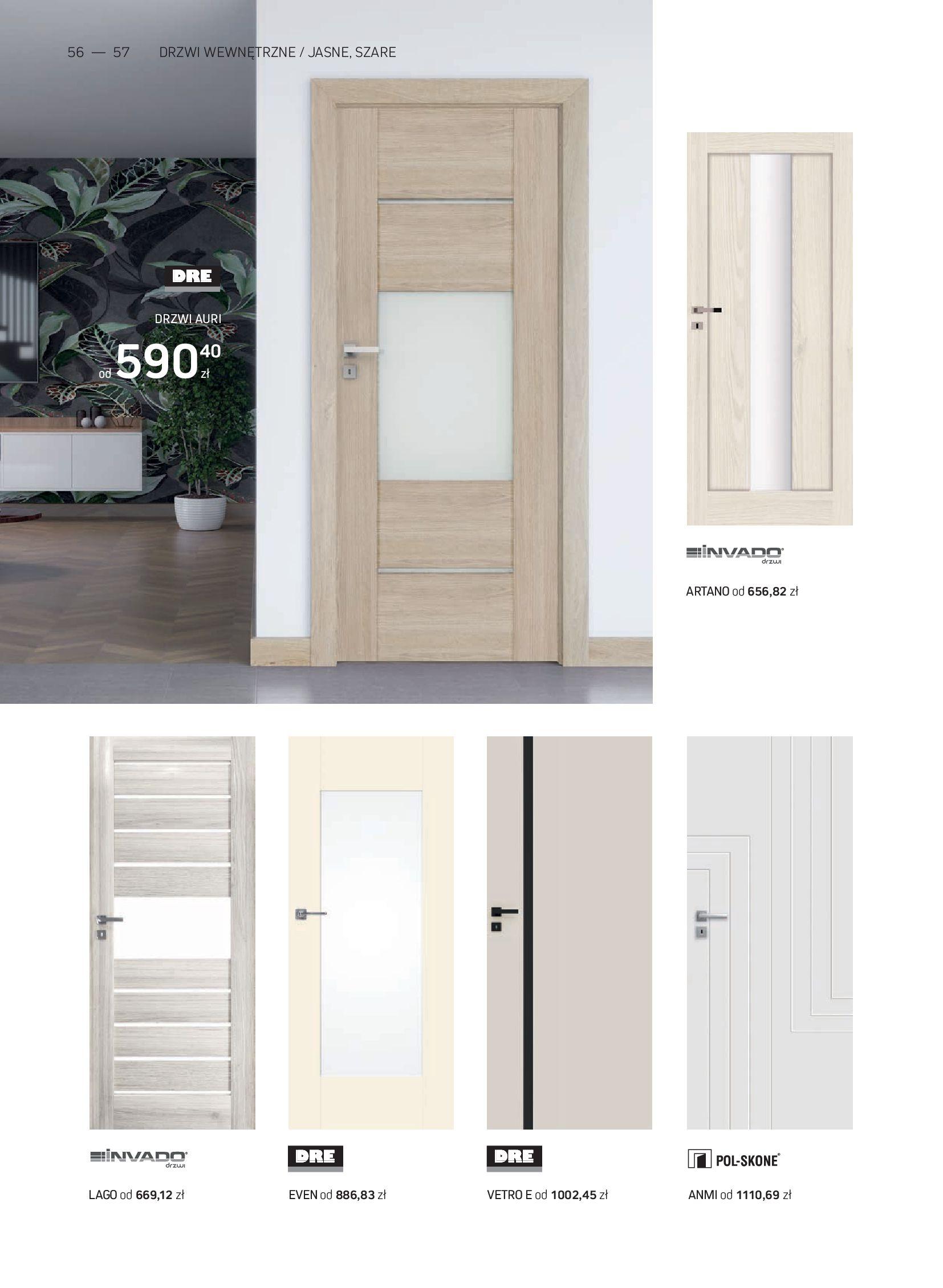 Gazetka Komfort: Gazetka Komfort - Katalog podłogi i drzwi 2021-06-16 page-56