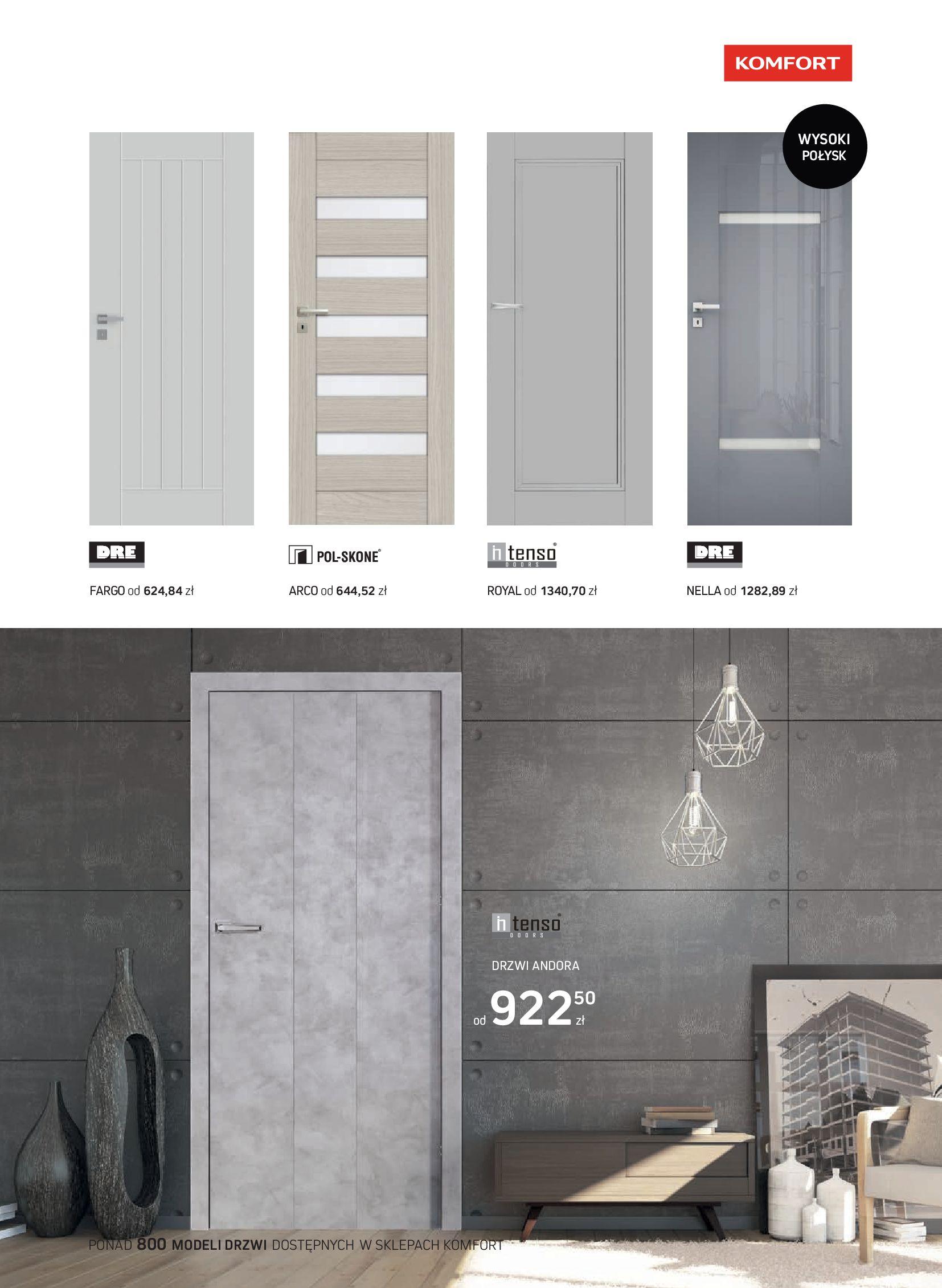 Gazetka Komfort: Gazetka Komfort - Katalog podłogi i drzwi 2021-06-16 page-57