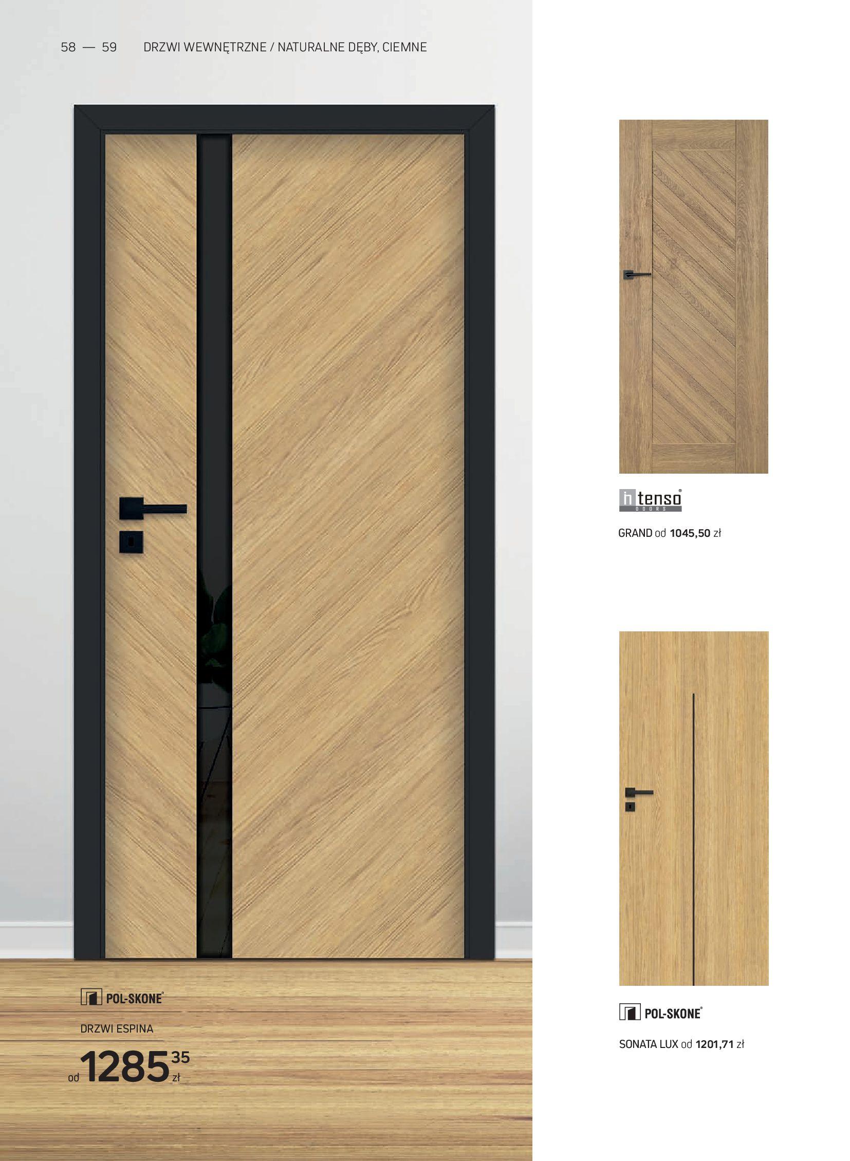 Gazetka Komfort: Gazetka Komfort - Katalog podłogi i drzwi 2021-06-16 page-58