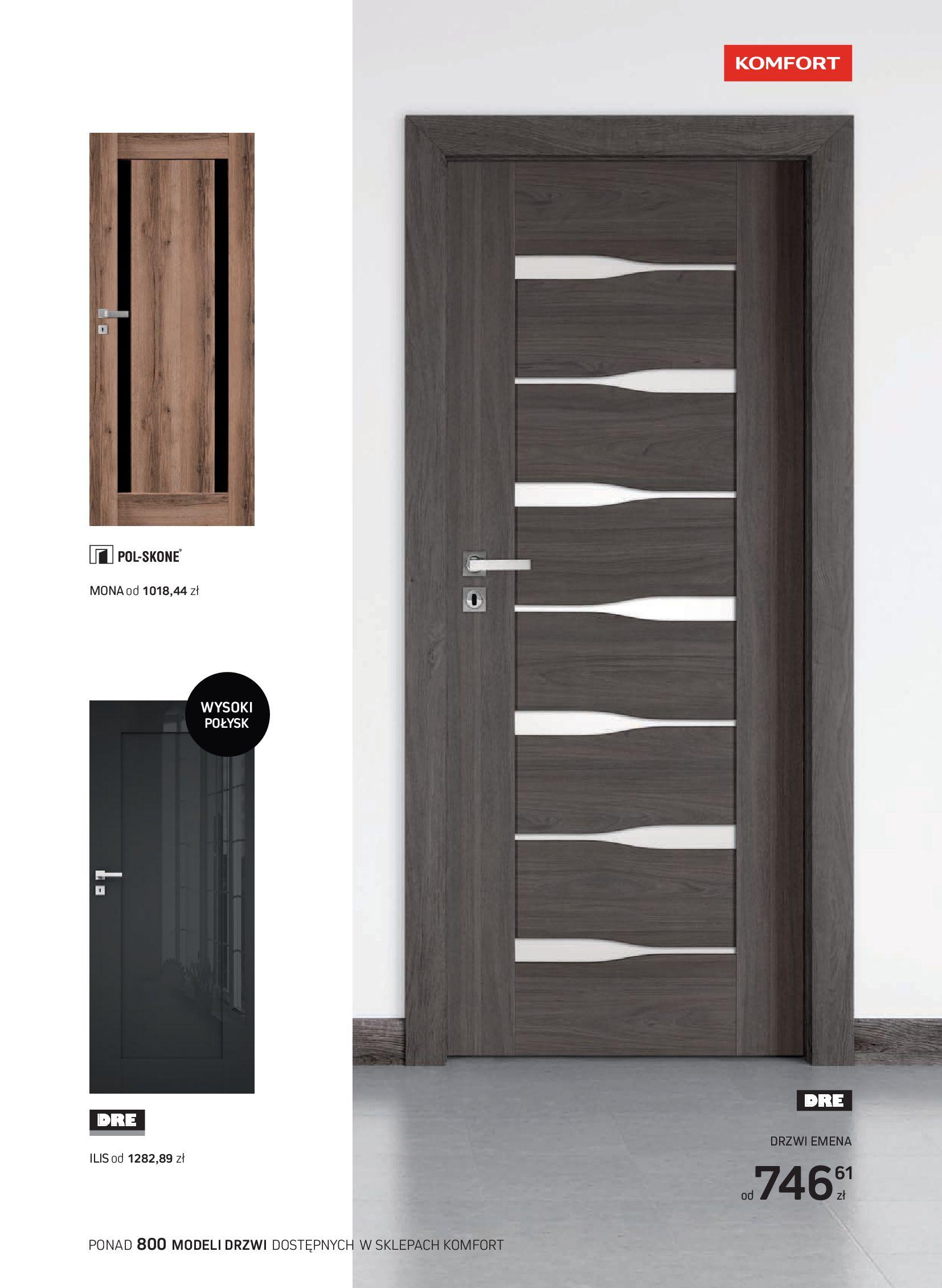 Gazetka Komfort: Gazetka Komfort - Katalog podłogi i drzwi 2021-06-16 page-59