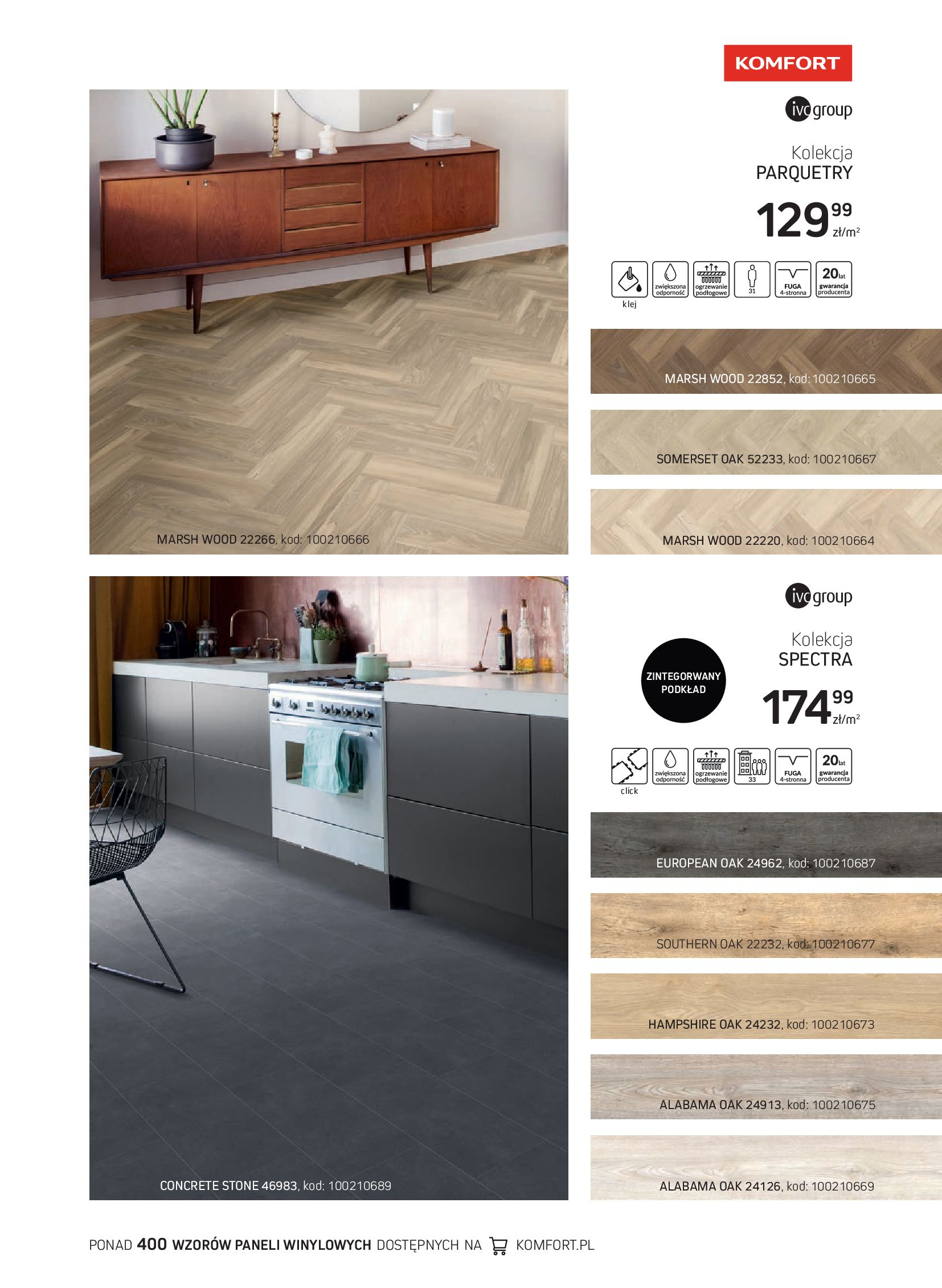 Gazetka Komfort: Gazetka Komfort - Katalog podłogi i drzwi 2021-06-16 page-7