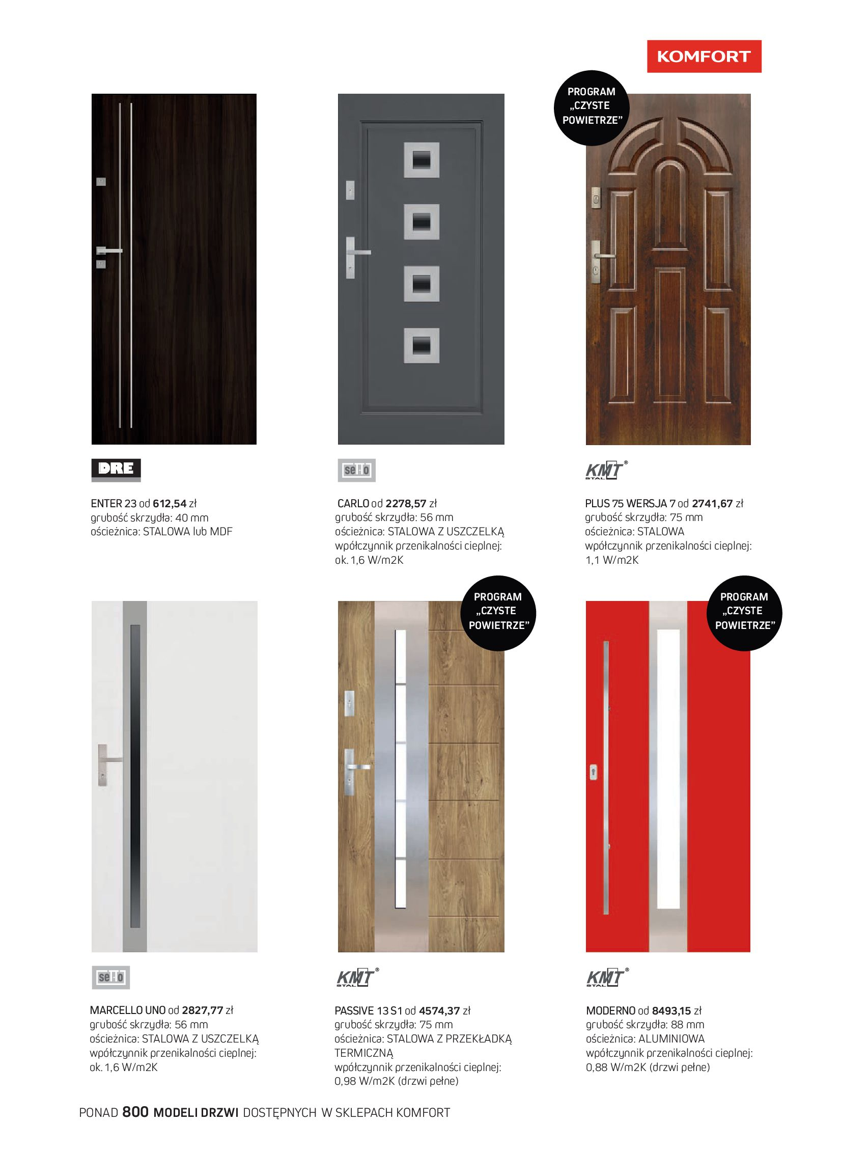 Gazetka Komfort: Gazetka Komfort - Katalog podłogi i drzwi 2021-06-16 page-61