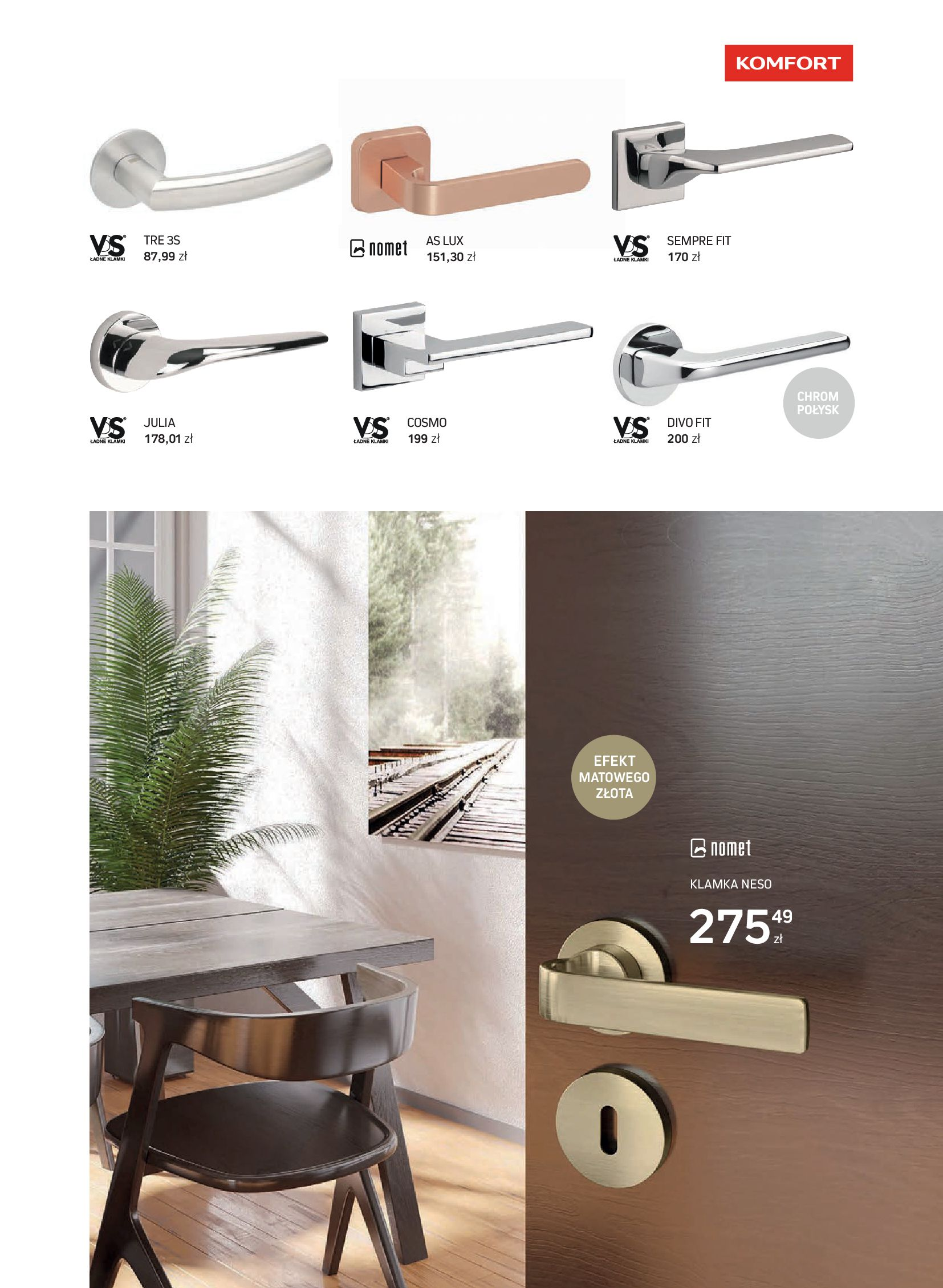 Gazetka Komfort: Gazetka Komfort - Katalog podłogi i drzwi 2021-06-16 page-63