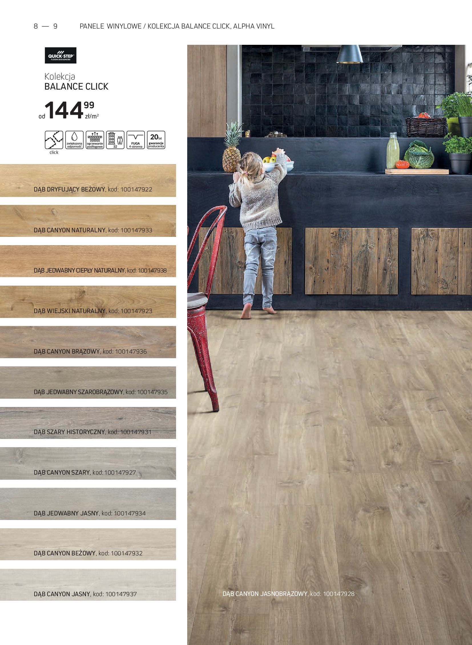 Gazetka Komfort: Gazetka Komfort - Katalog podłogi i drzwi 2021-06-16 page-8