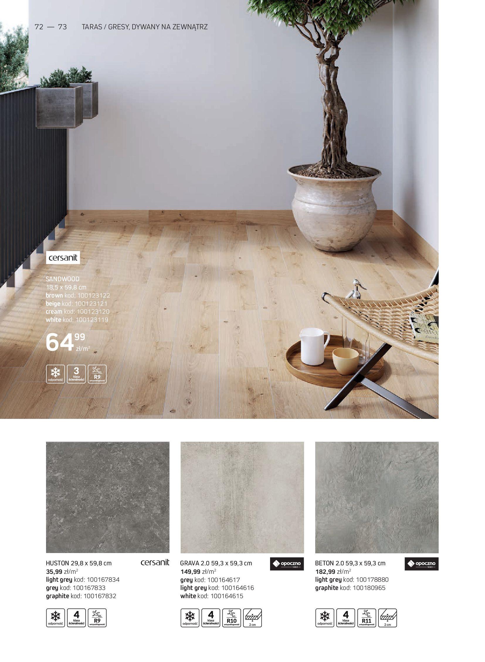 Gazetka Komfort: Gazetka Komfort - Katalog podłogi i drzwi 2021-06-16 page-72