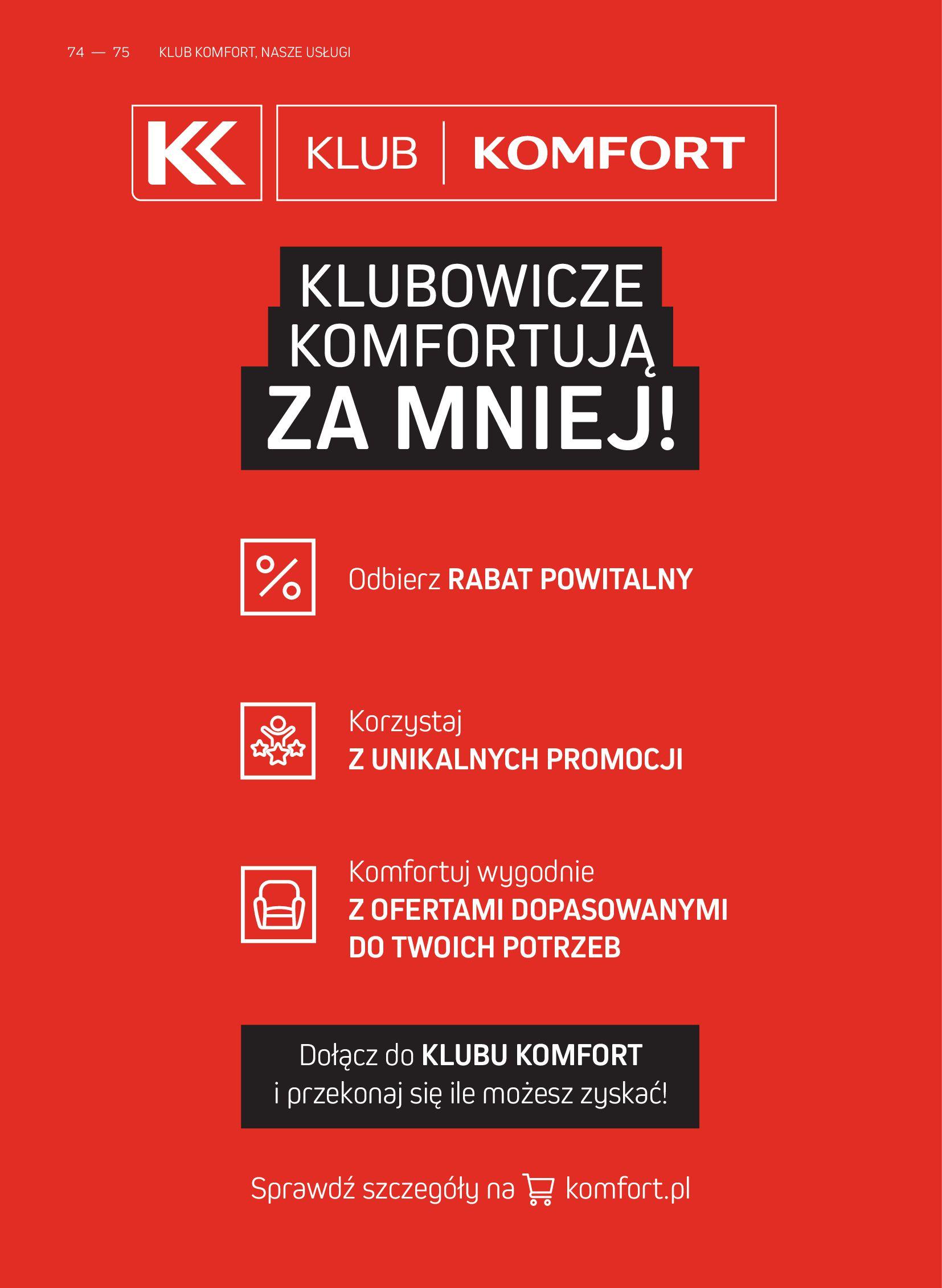 Gazetka Komfort: Gazetka Komfort - Katalog podłogi i drzwi 2021-06-16 page-74