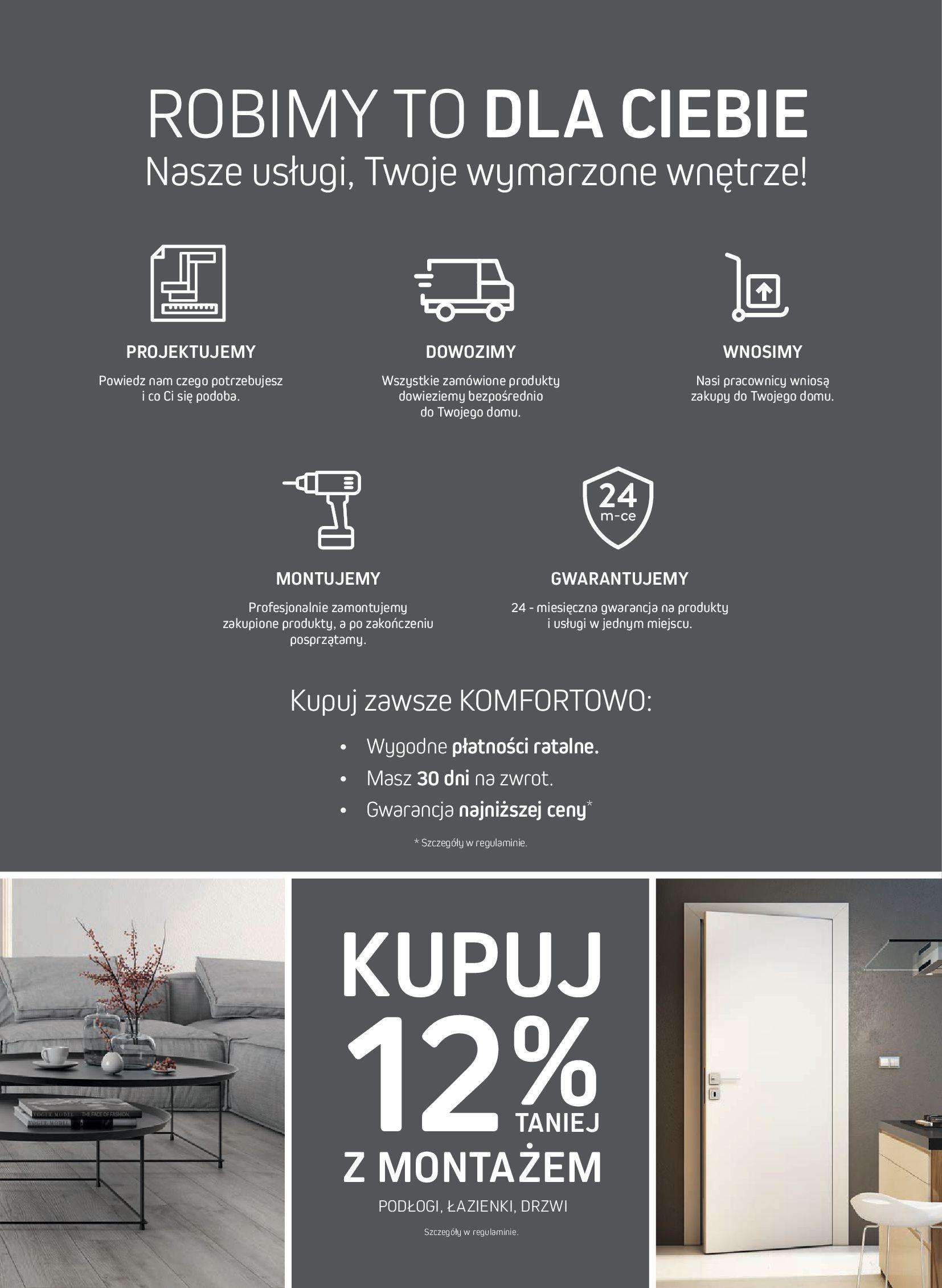 Gazetka Komfort: Gazetka Komfort - Katalog podłogi i drzwi 2021-06-16 page-75