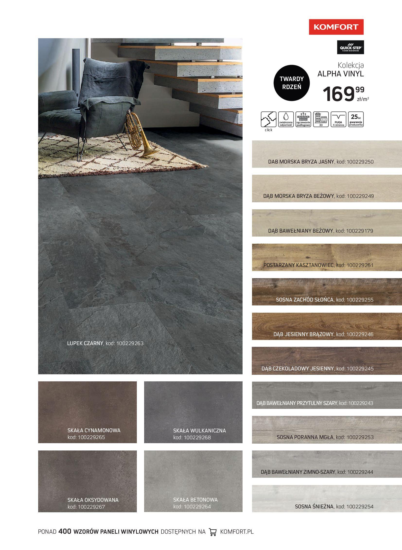 Gazetka Komfort: Gazetka Komfort - Katalog podłogi i drzwi 2021-06-16 page-9