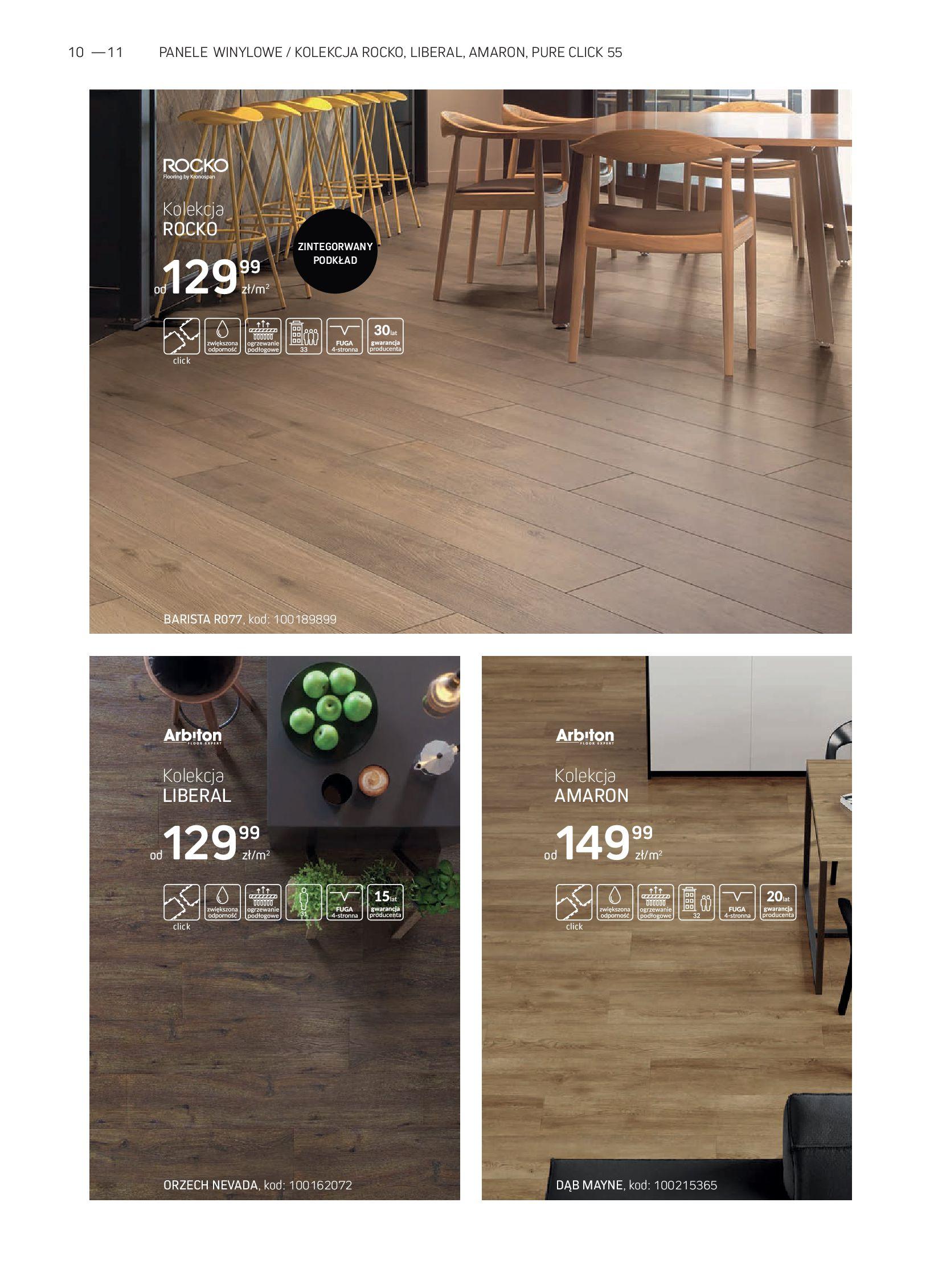 Gazetka Komfort: Gazetka Komfort - Katalog podłogi i drzwi 2021-06-16 page-10
