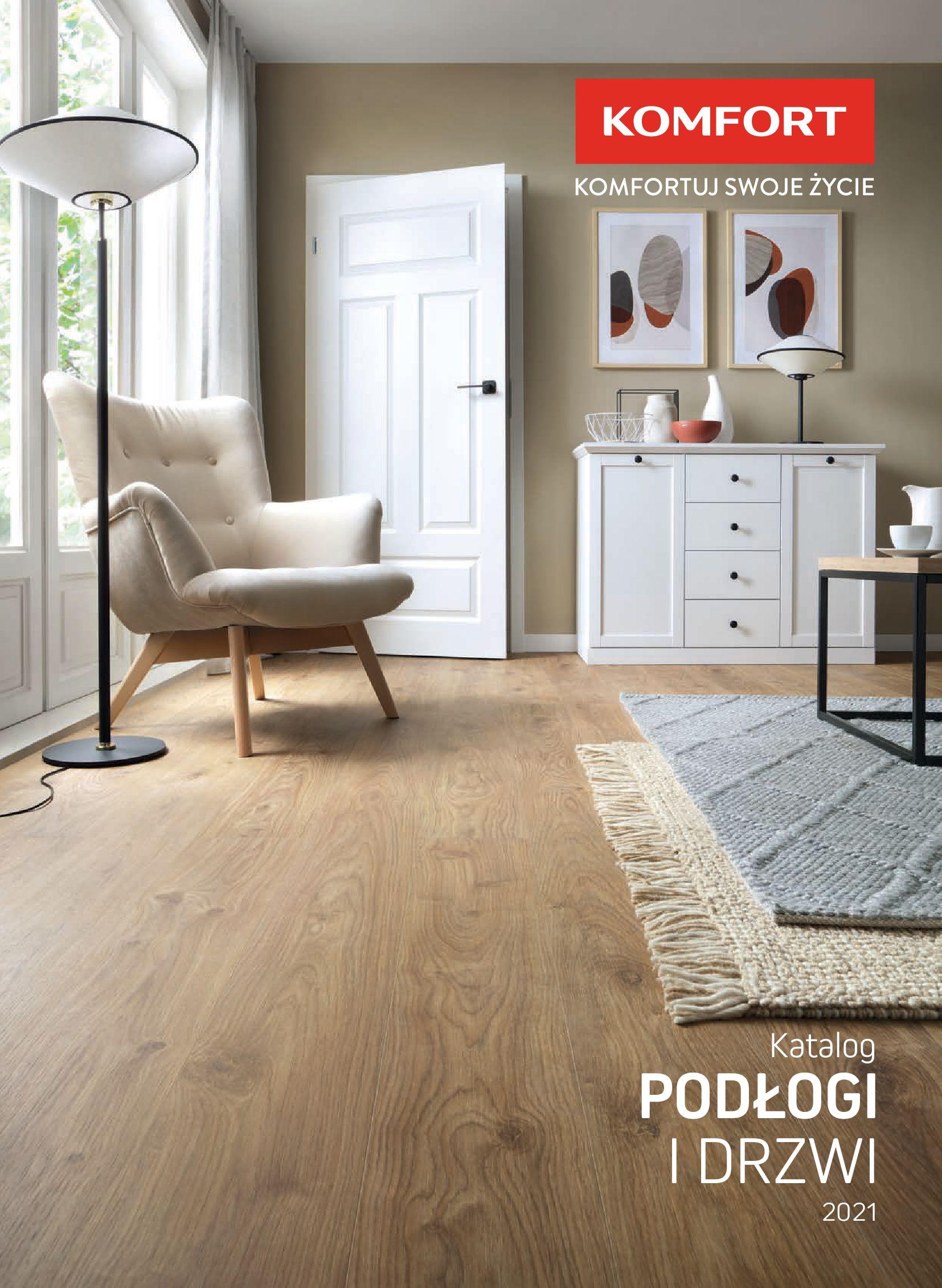 Komfort:  Gazetka Komfort - Katalog podłogi i drzwi 15.06.2021