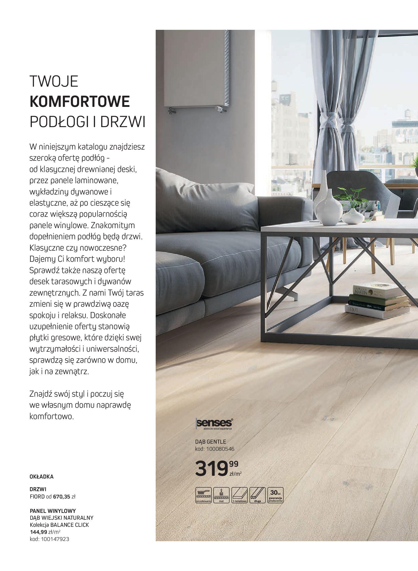 Gazetka Komfort: Gazetka Komfort - Katalog podłogi i drzwi 2021-06-16 page-2