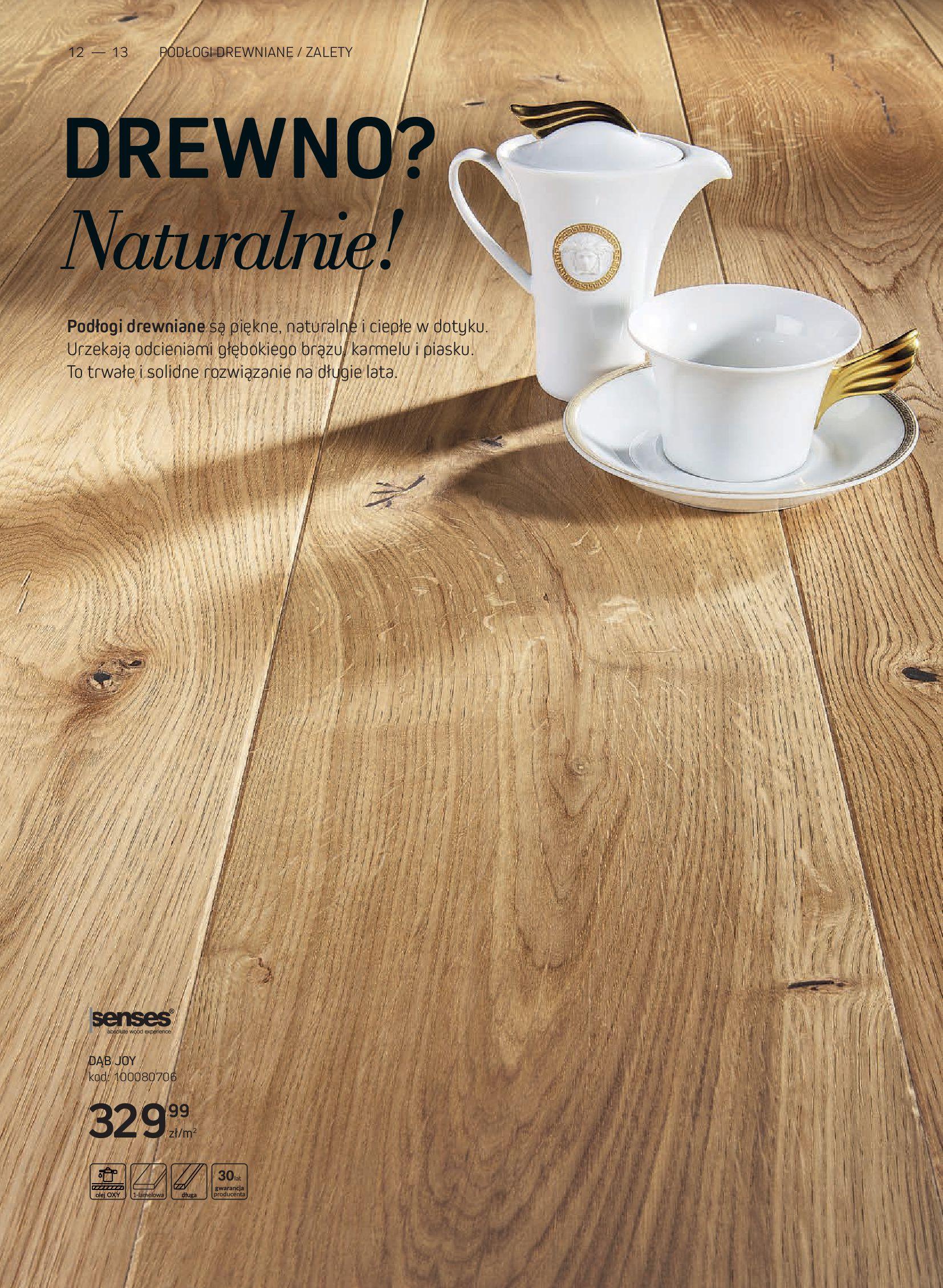 Gazetka Komfort: Gazetka Komfort - Katalog podłogi i drzwi 2021-06-16 page-12