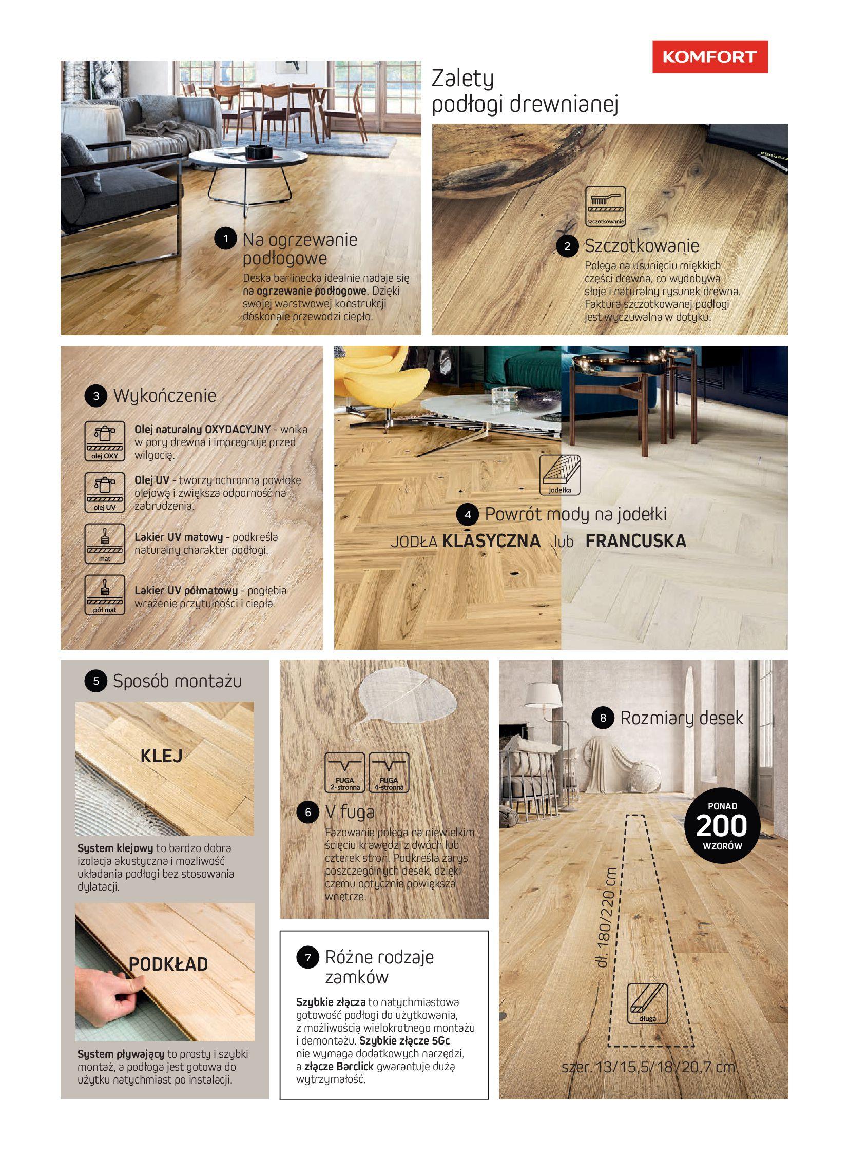 Gazetka Komfort: Gazetka Komfort - Katalog podłogi i drzwi 2021-06-16 page-13