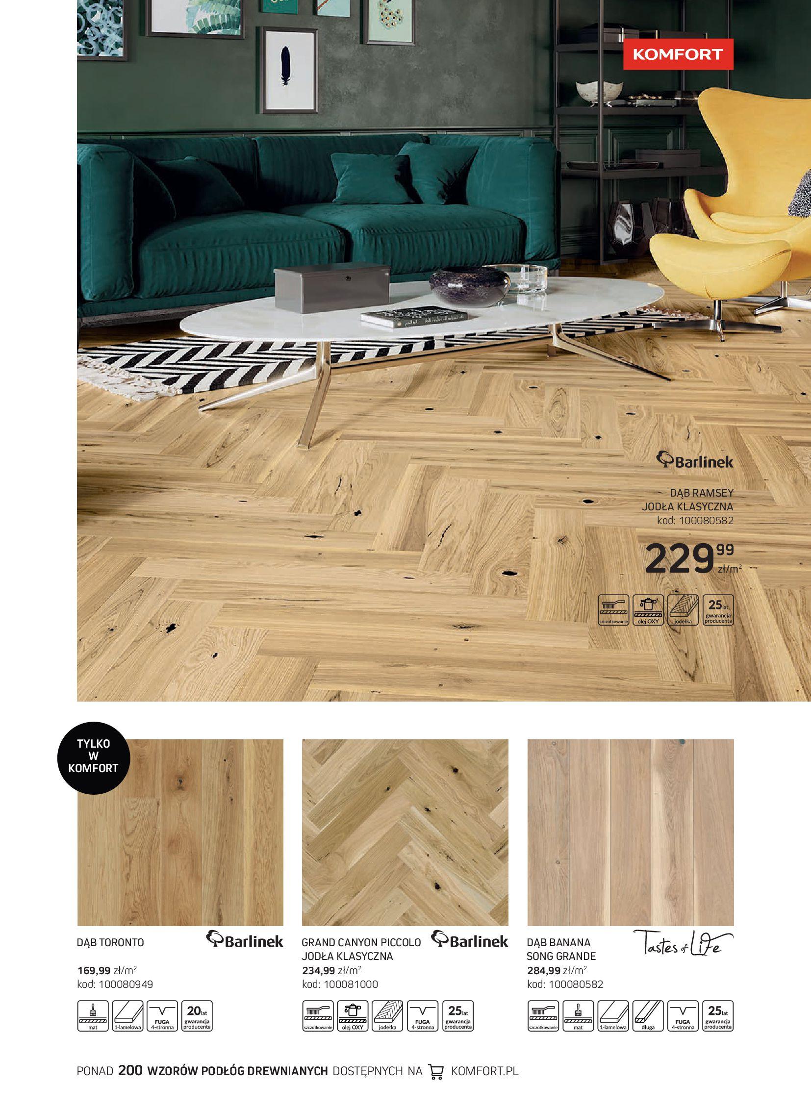 Gazetka Komfort: Gazetka Komfort - Katalog podłogi i drzwi 2021-06-16 page-17