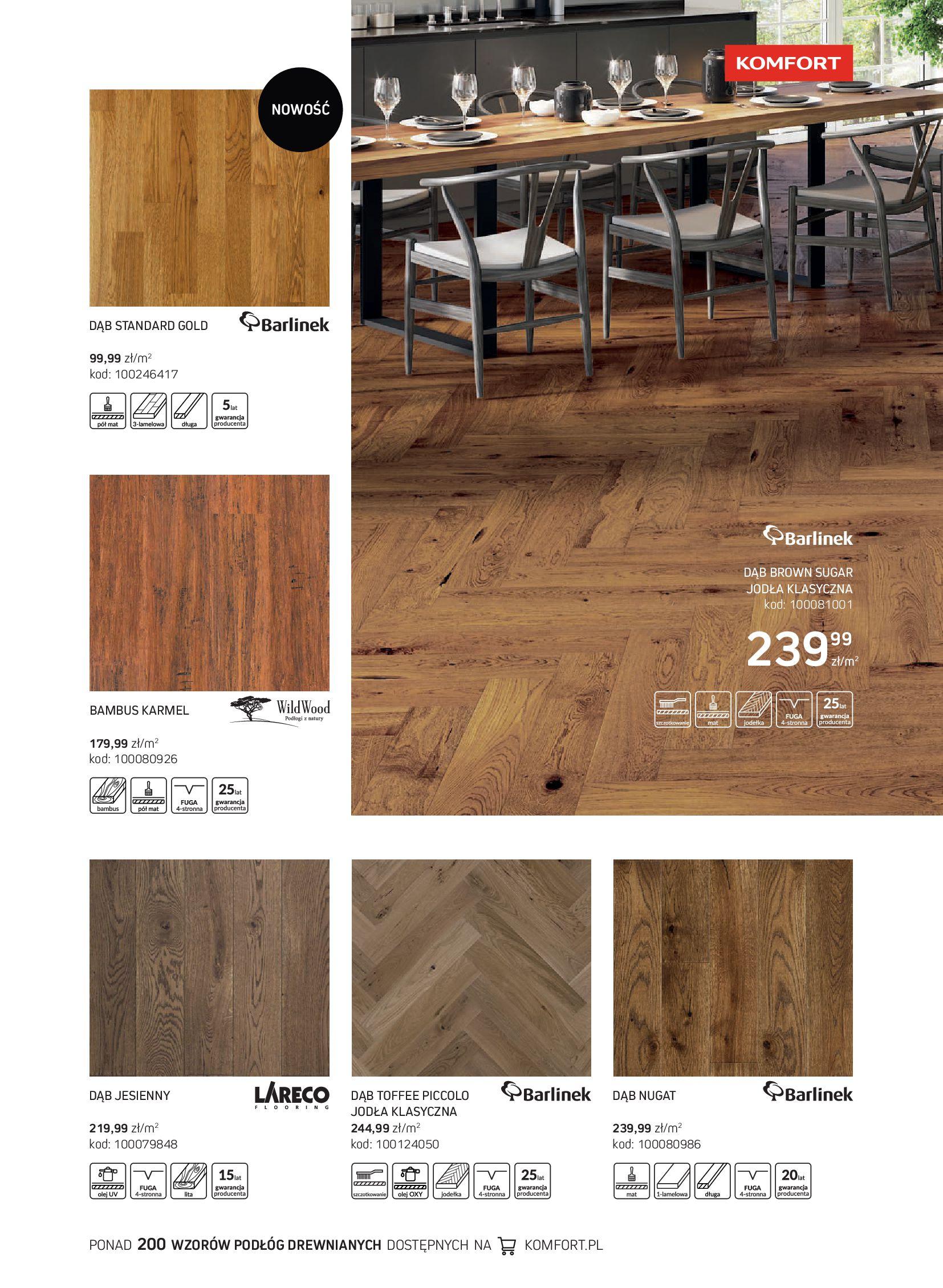 Gazetka Komfort: Gazetka Komfort - Katalog podłogi i drzwi 2021-06-16 page-21