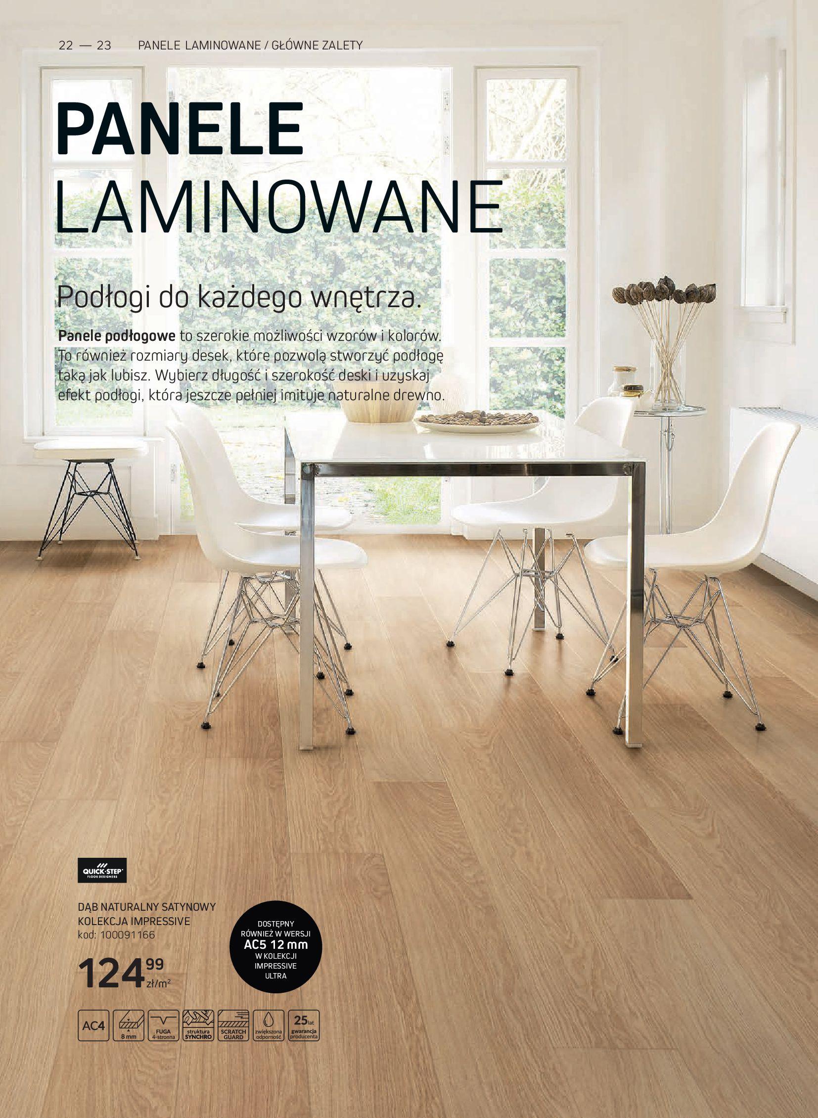 Gazetka Komfort: Gazetka Komfort - Katalog podłogi i drzwi 2021-06-16 page-22