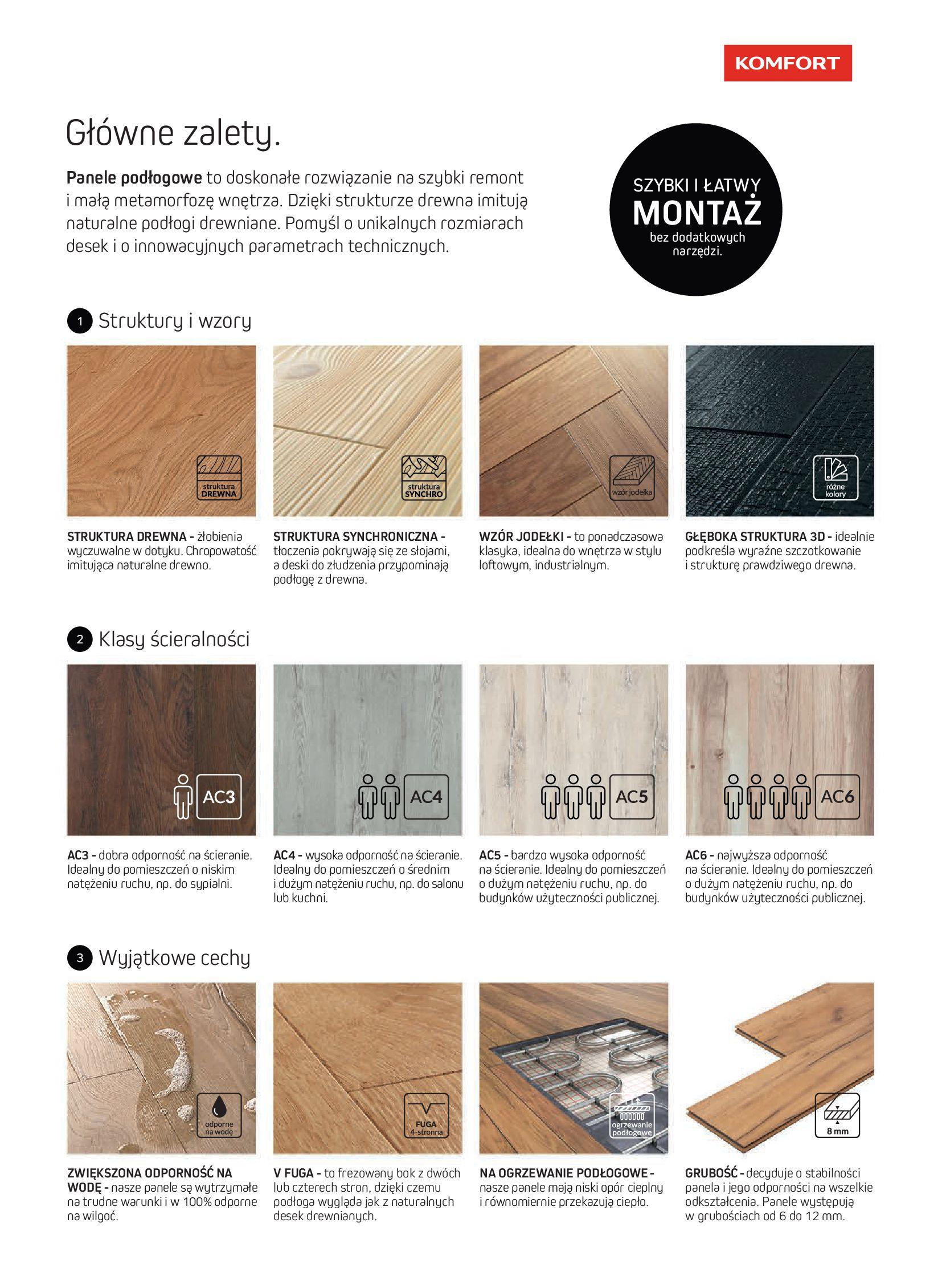 Gazetka Komfort: Gazetka Komfort - Katalog podłogi i drzwi 2021-06-16 page-23